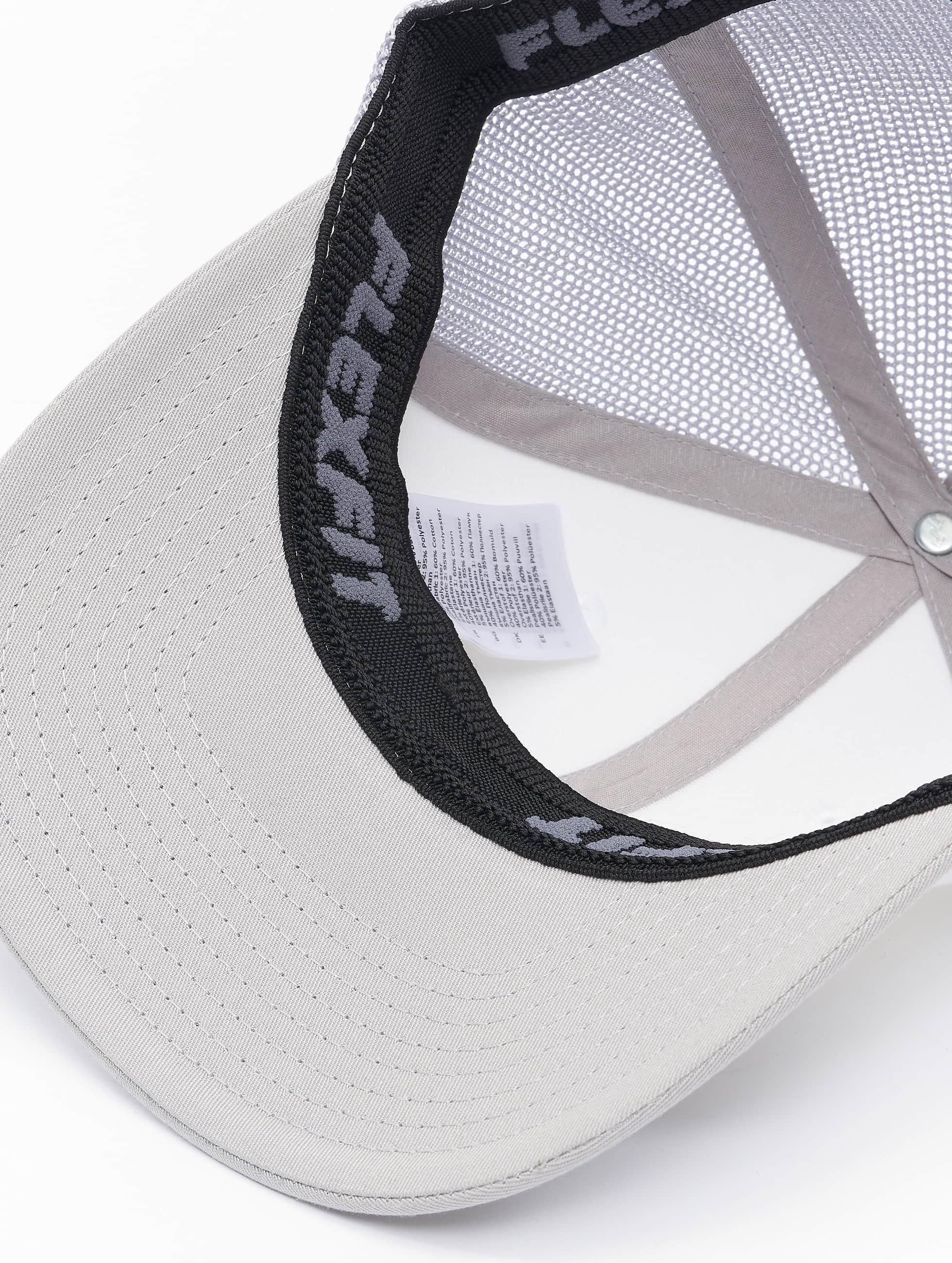 Flexfit Flexfitted Cap Mesh Colored Front silberfarben