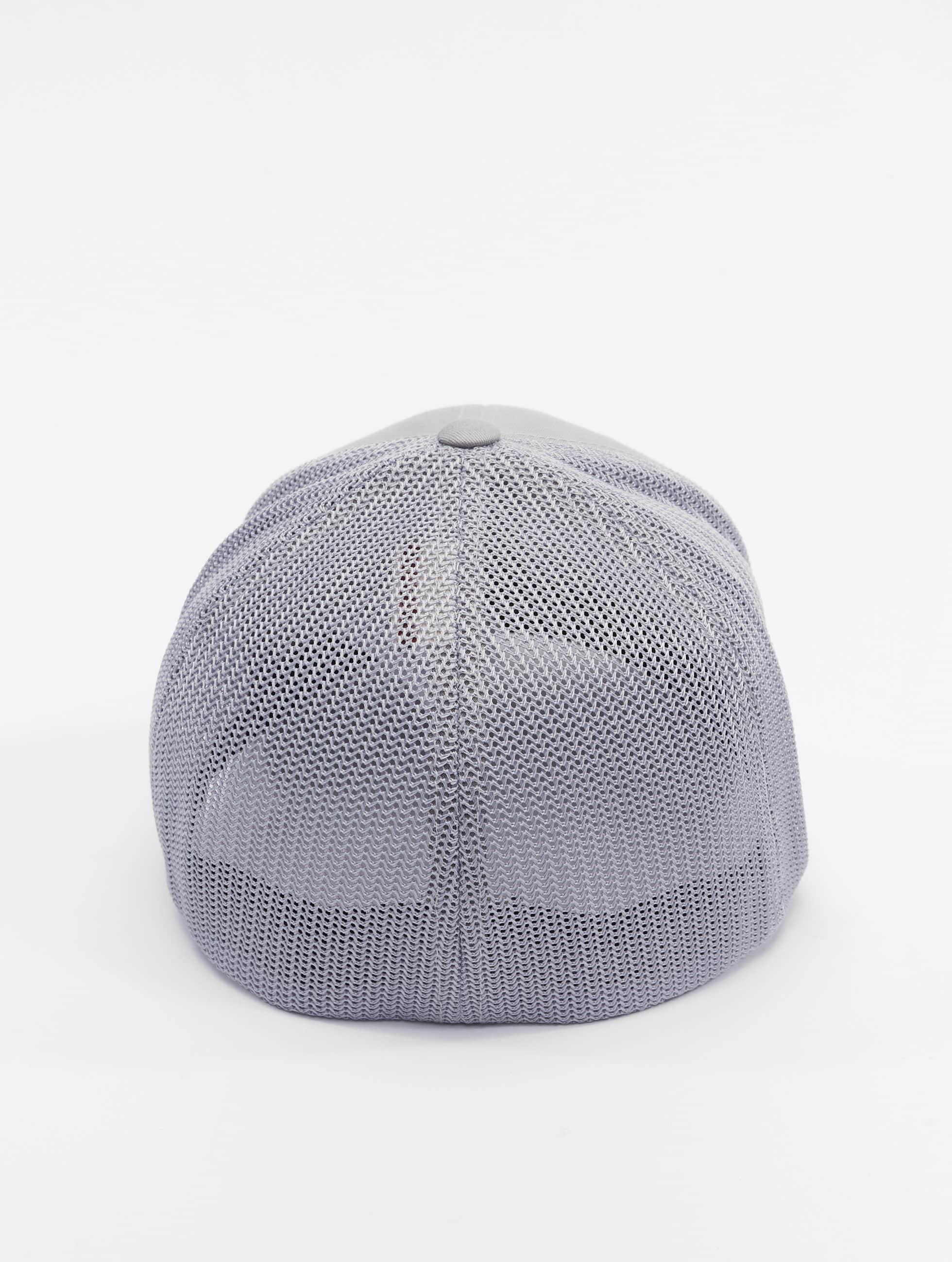 Flexfit Flexfitted Cap Mesh Cotton Twill silberfarben