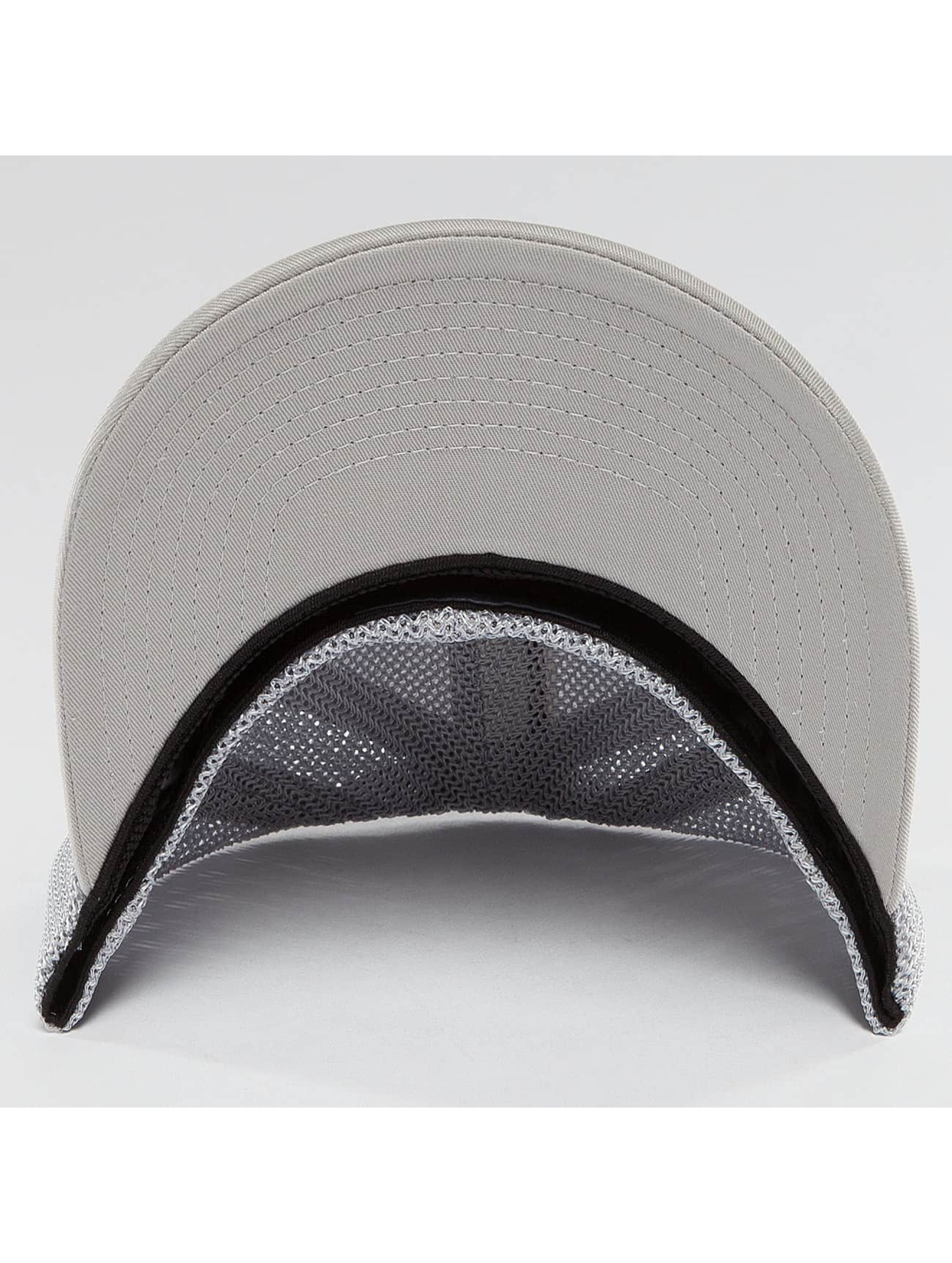 Flexfit Flexfitted Cap Mesh Colored Front srebrny