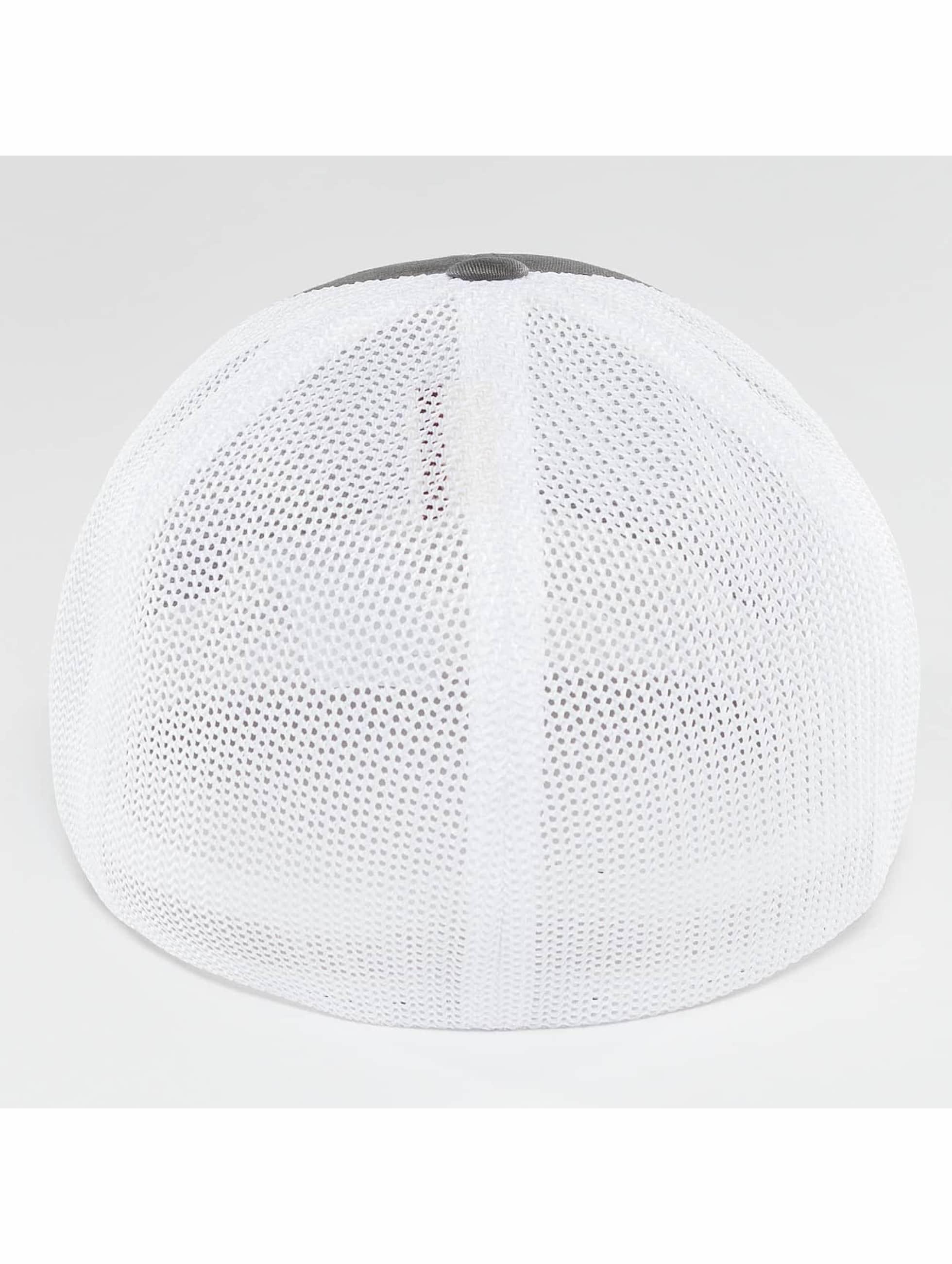 Flexfit Flexfitted Cap Mesh Cotton Twill Two Tone szary