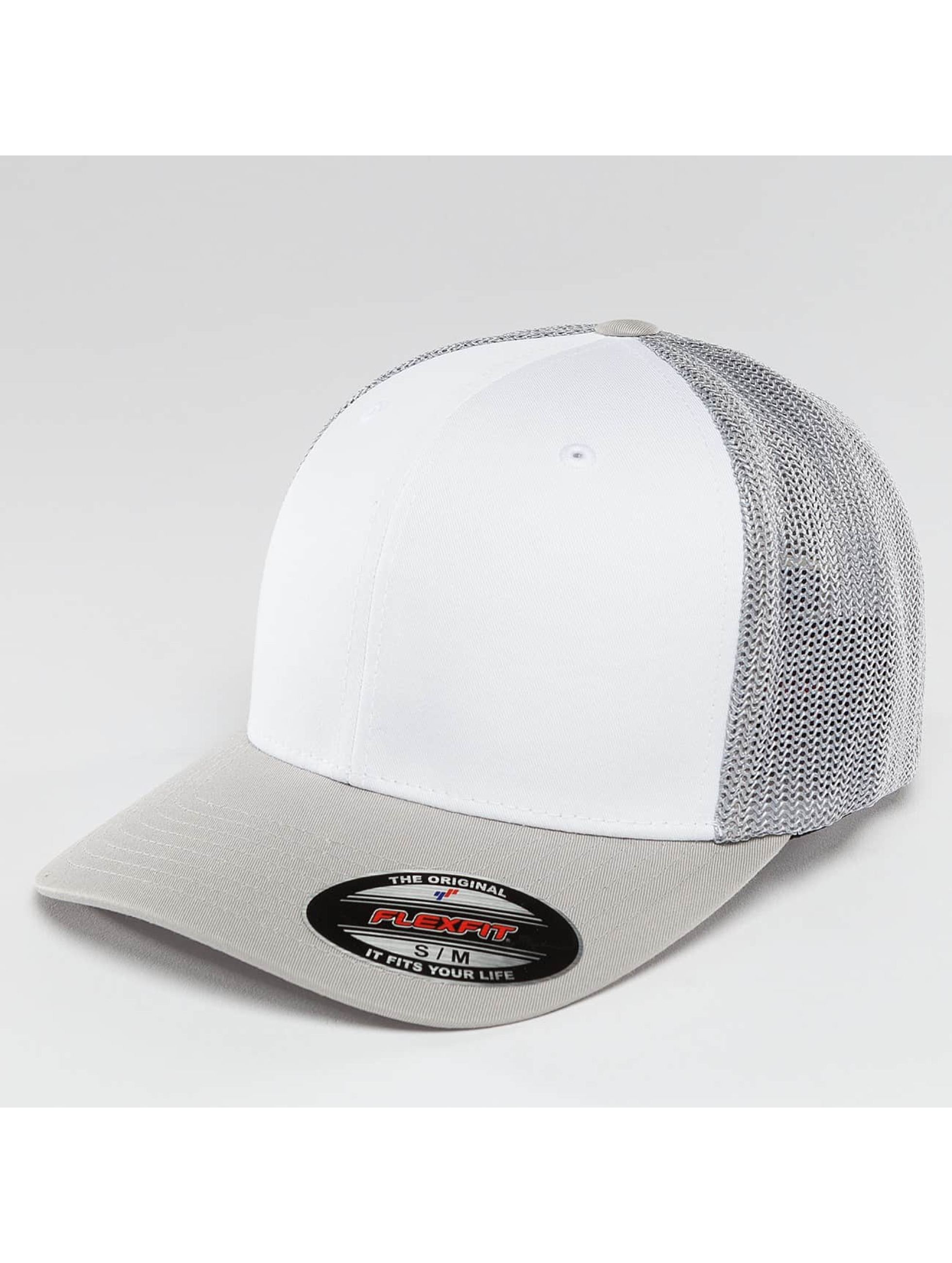 Flexfit Flexfitted Cap Mesh Colored Front zilver