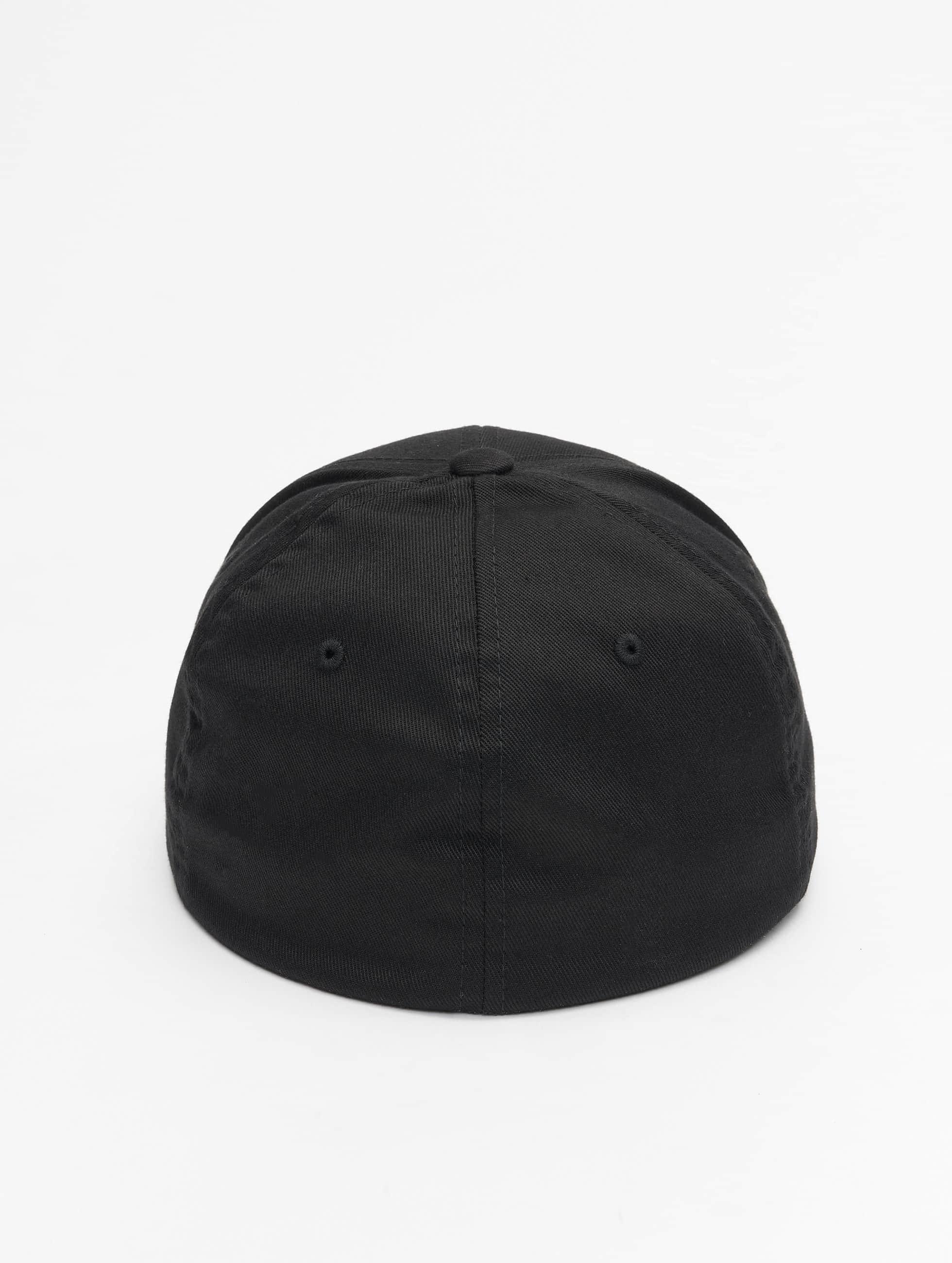 Flexfit Flexfitted Cap Wooly Combed zwart