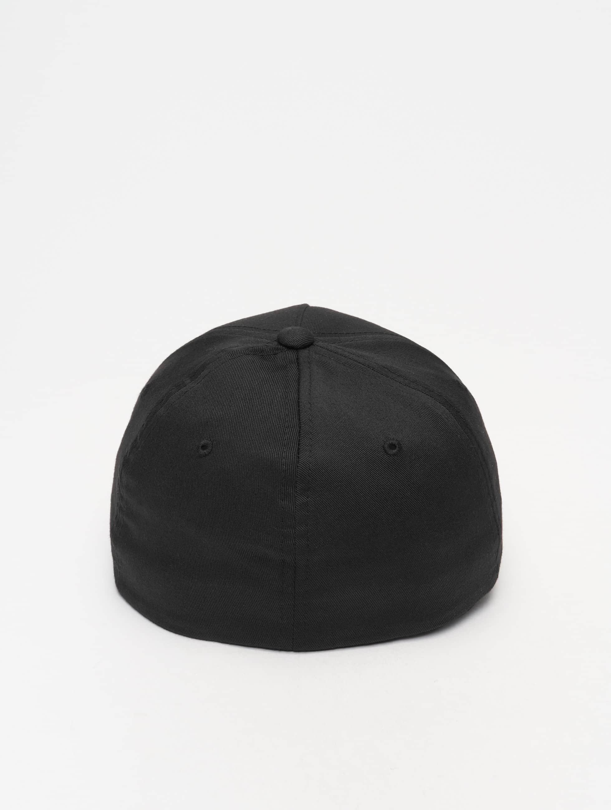 Flexfit Flexfitted Cap 5 Panel zwart