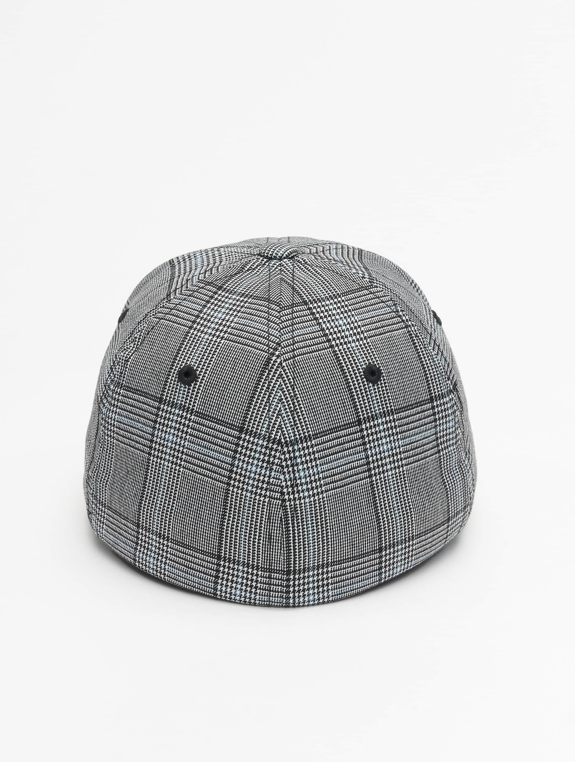 Flexfit Flexfitted Cap Glen Check zwart