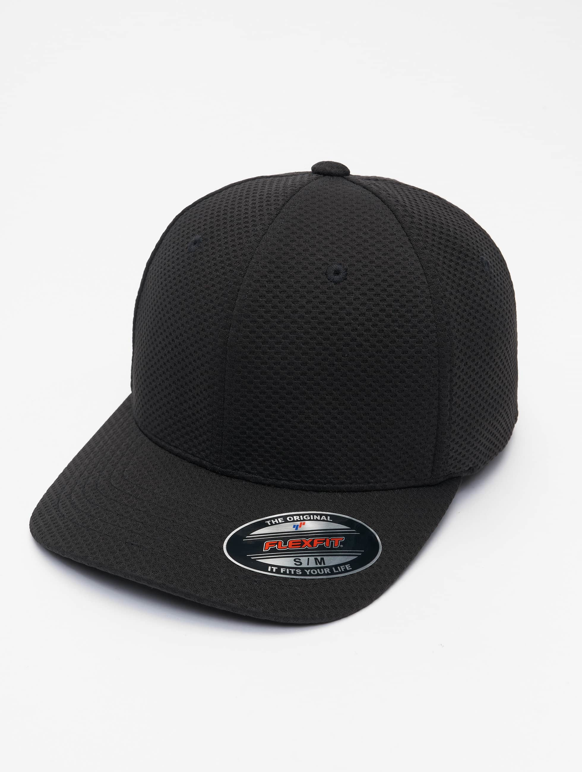 Flexfit Flexfitted Cap 3D Hexagon zwart