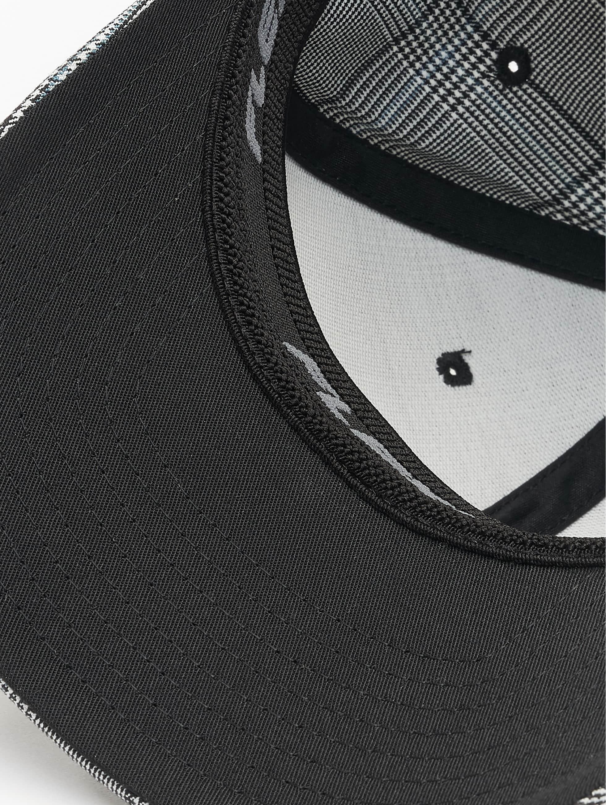 Flexfit Flexfitted-lippikset Glen Check musta