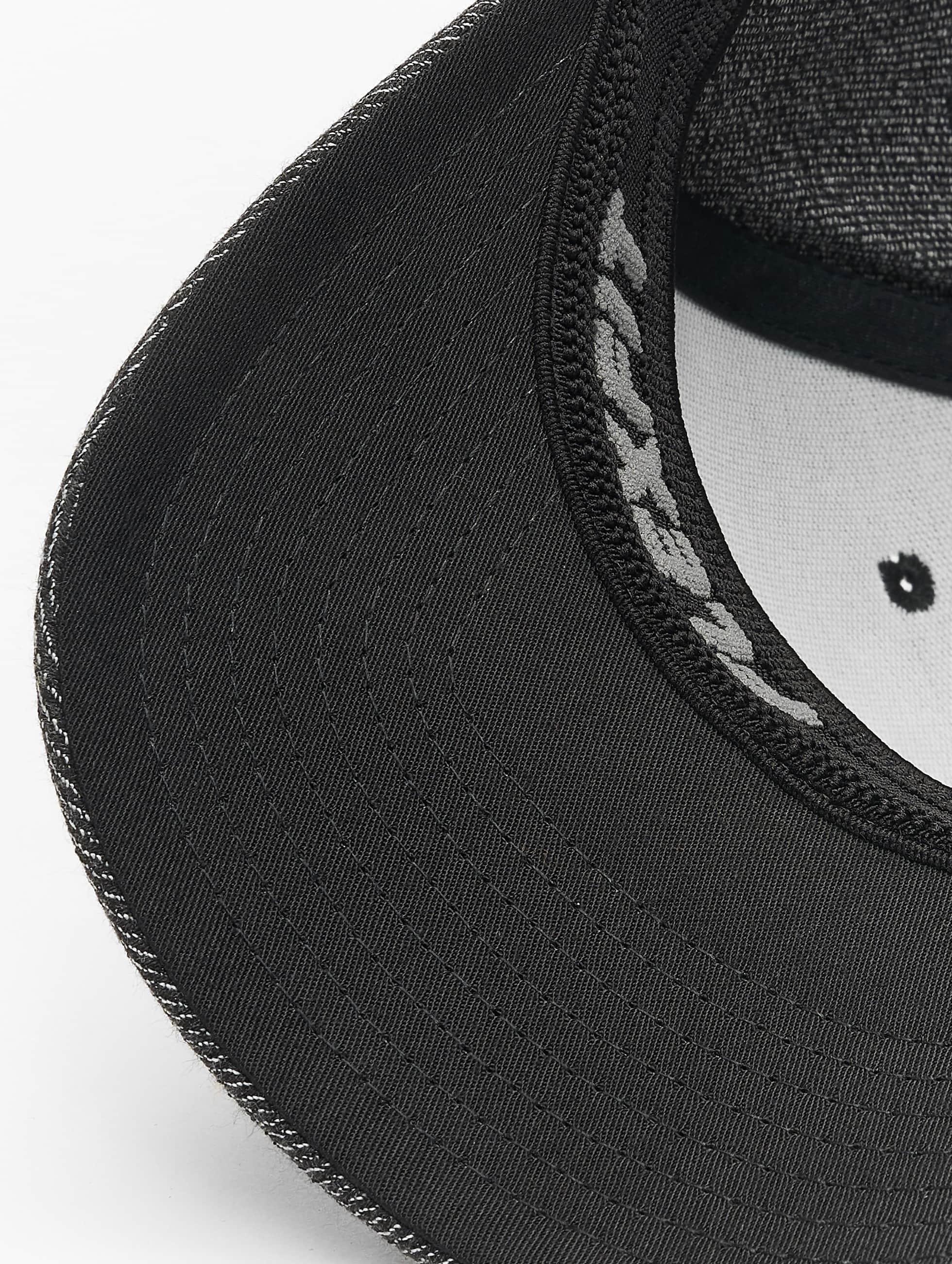 Flexfit Flexfitted-lippikset Melange musta
