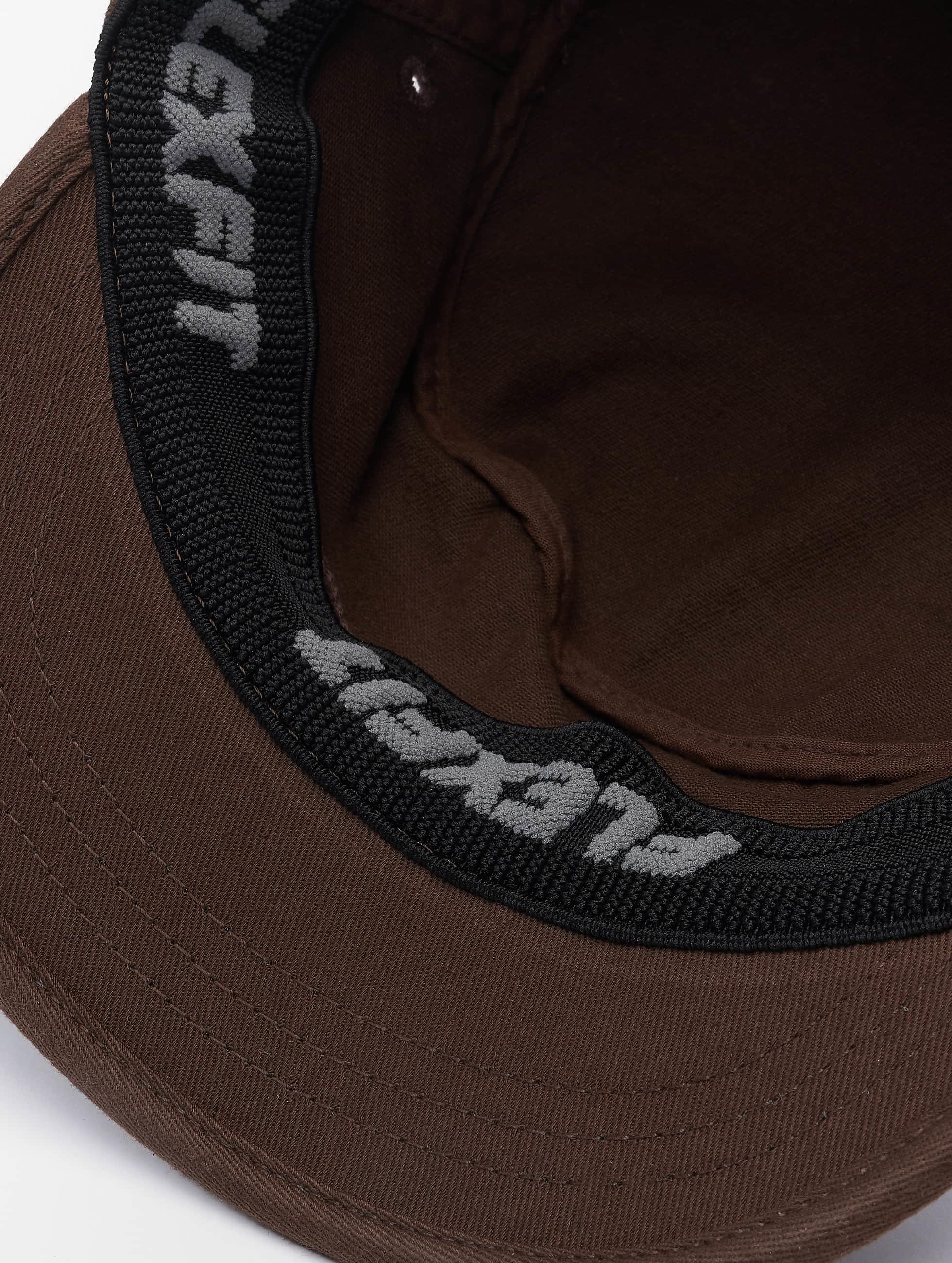 Flexfit Flexfitted-lippikset Top Gun Garmet Washed ruskea