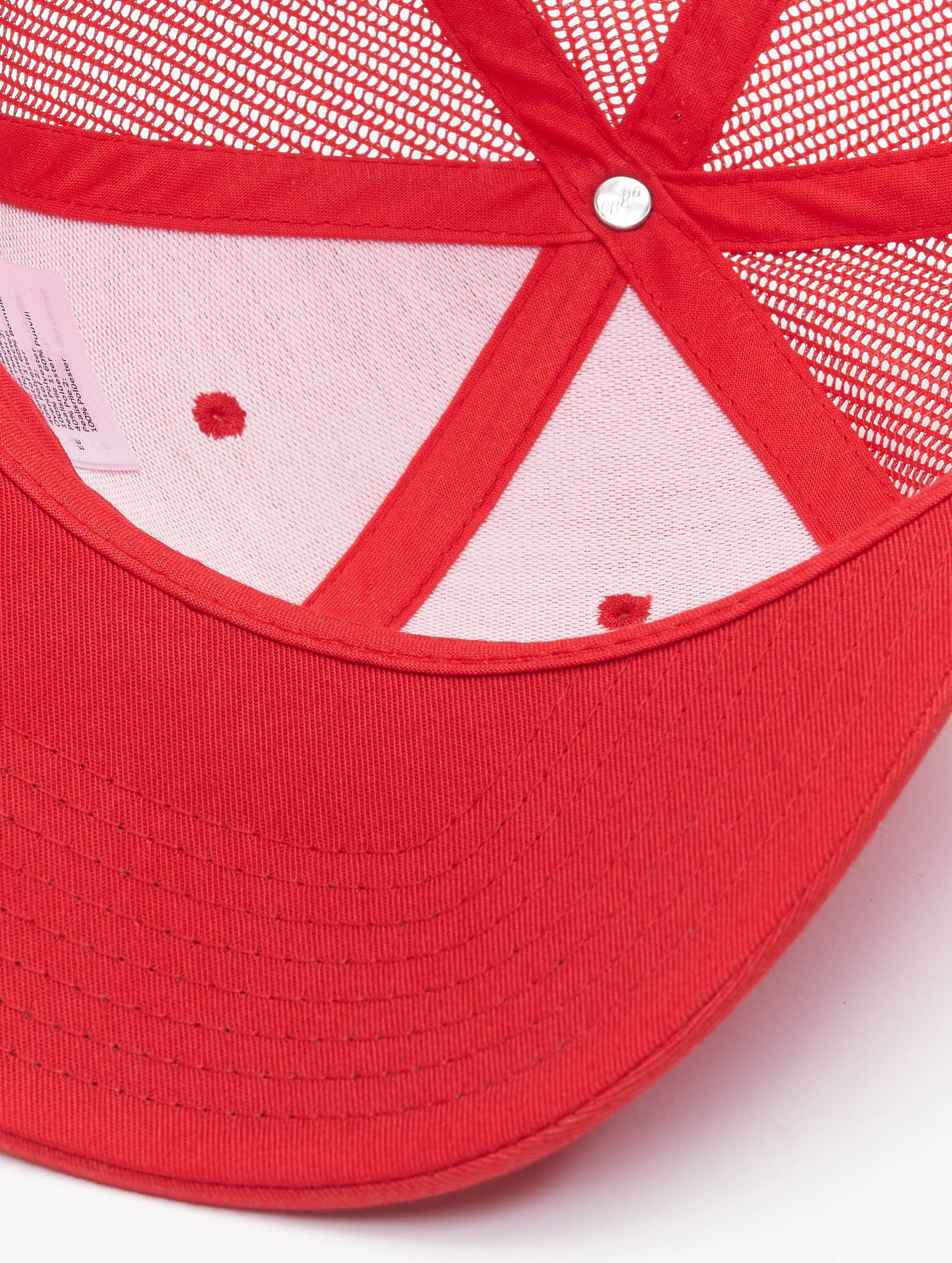 Flexfit Gorra Trucker Retro rojo