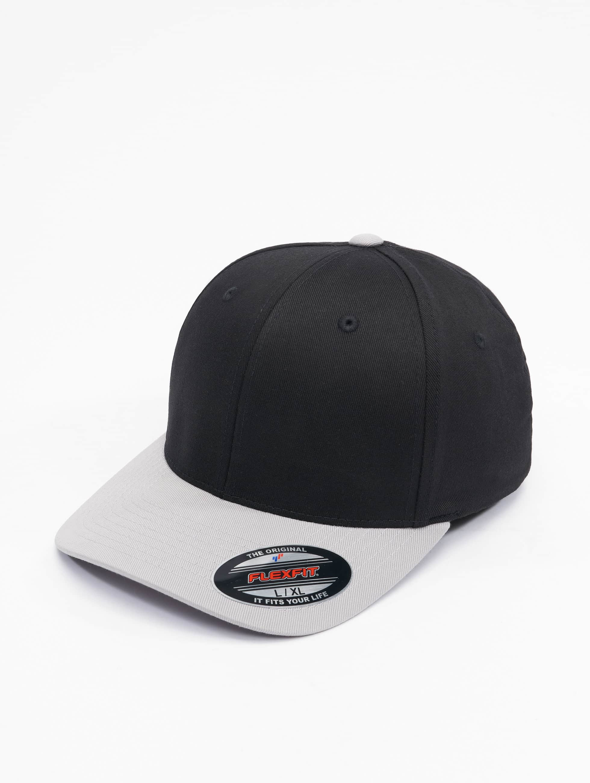 Flexfit Gorras Flexfitted 2-Tone Wooly Combed negro