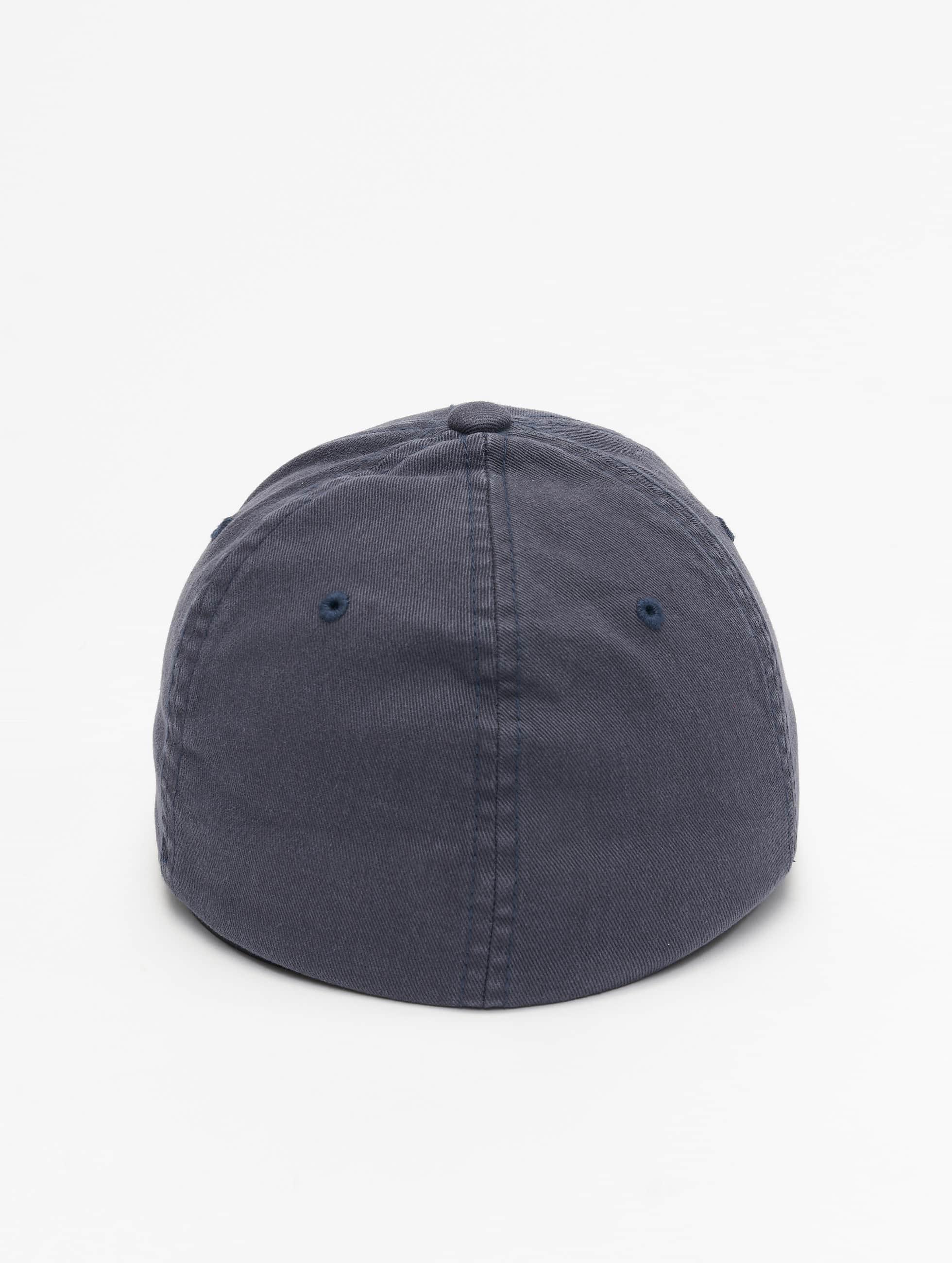 Flexfit Lastebilsjåfør- / flexfitted caps Garment Washed Cotton Dat blå
