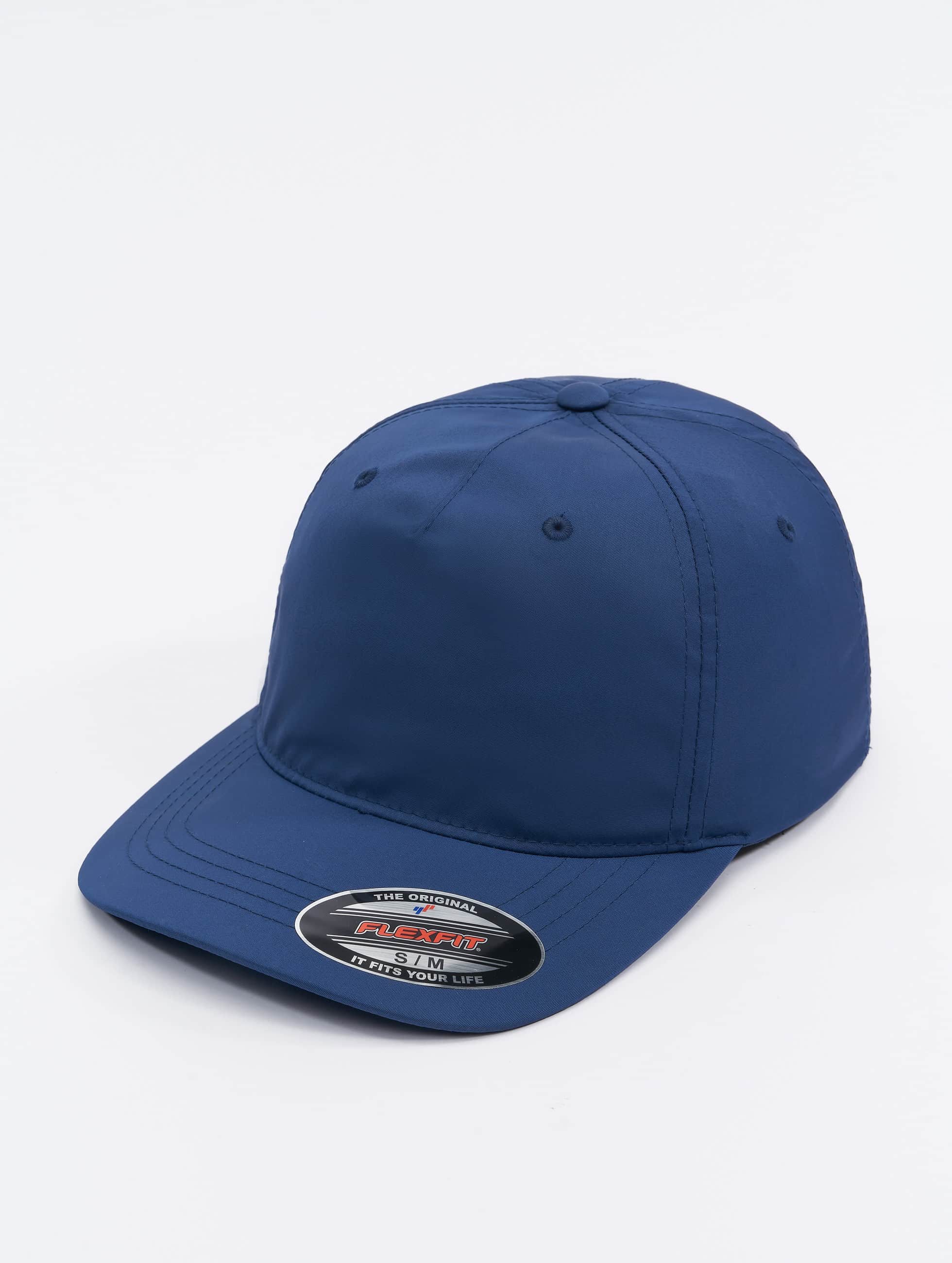 Flexfit Lastebilsjåfør- / flexfitted caps Unstructured Tech blå