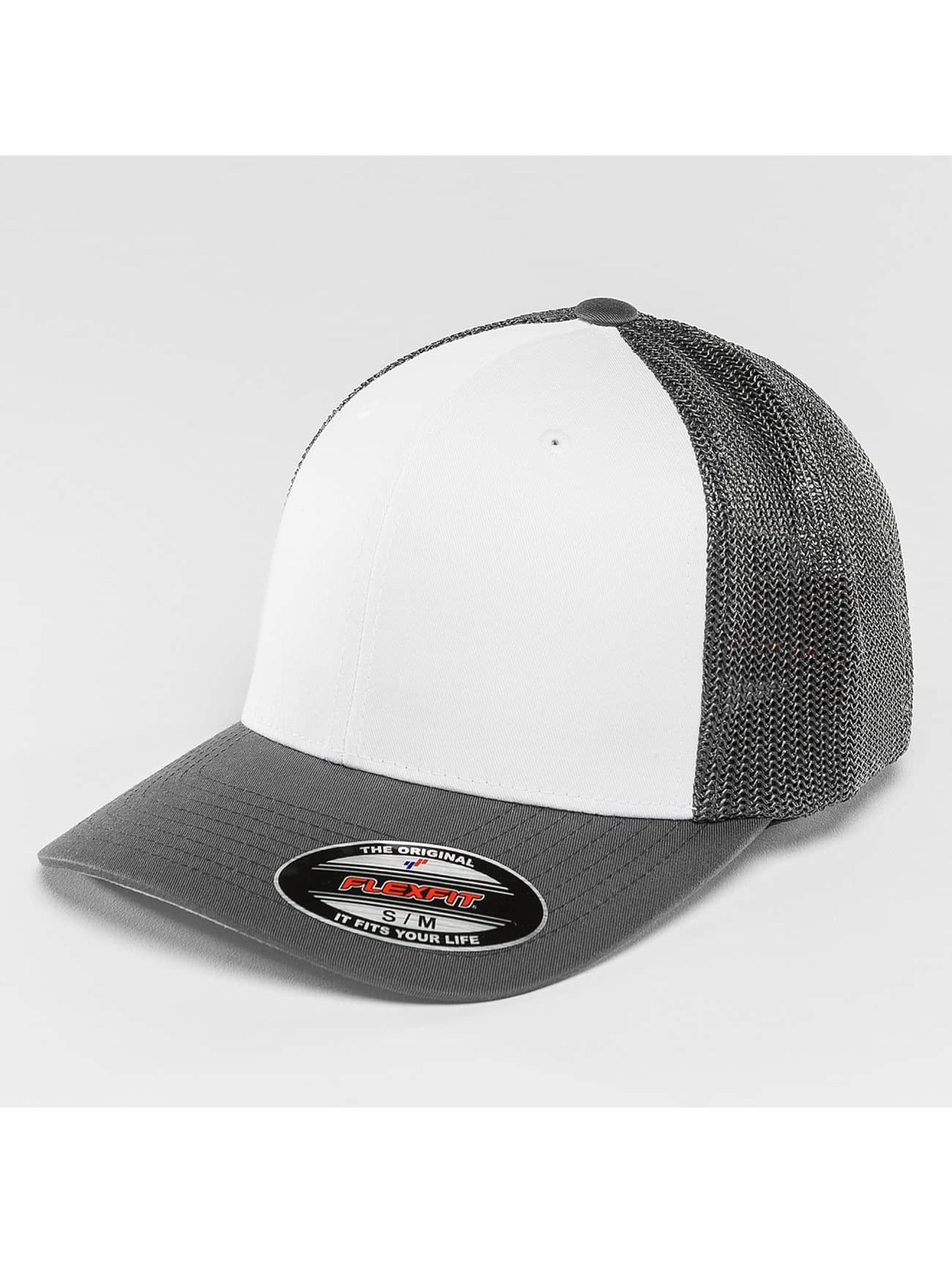 Flexfit Lastebilsjåfør- / flexfitted caps Mesh grå