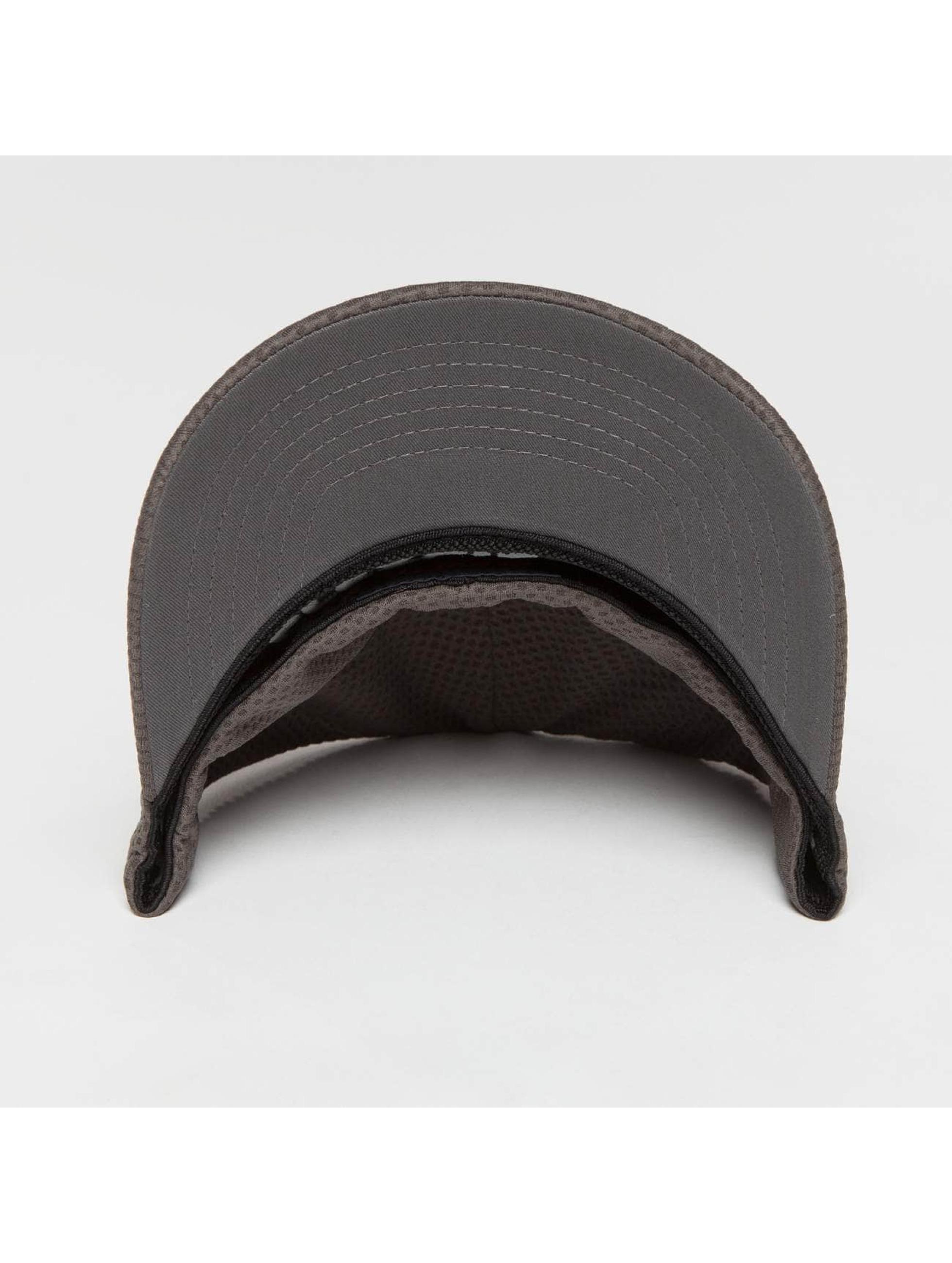 Flexfit Lastebilsjåfør- / flexfitted caps 3D Hexagon grå