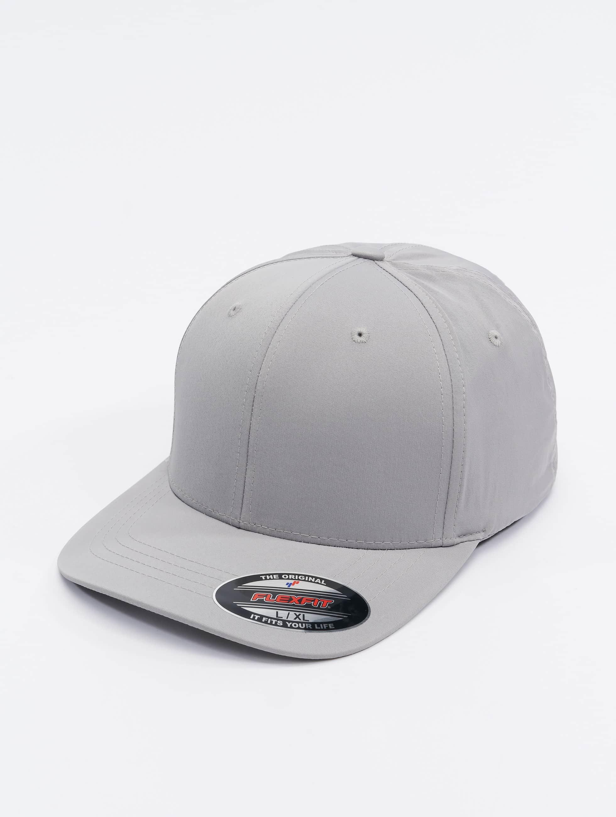 Flexfit Lastebilsjåfør- / flexfitted caps Tech sølv