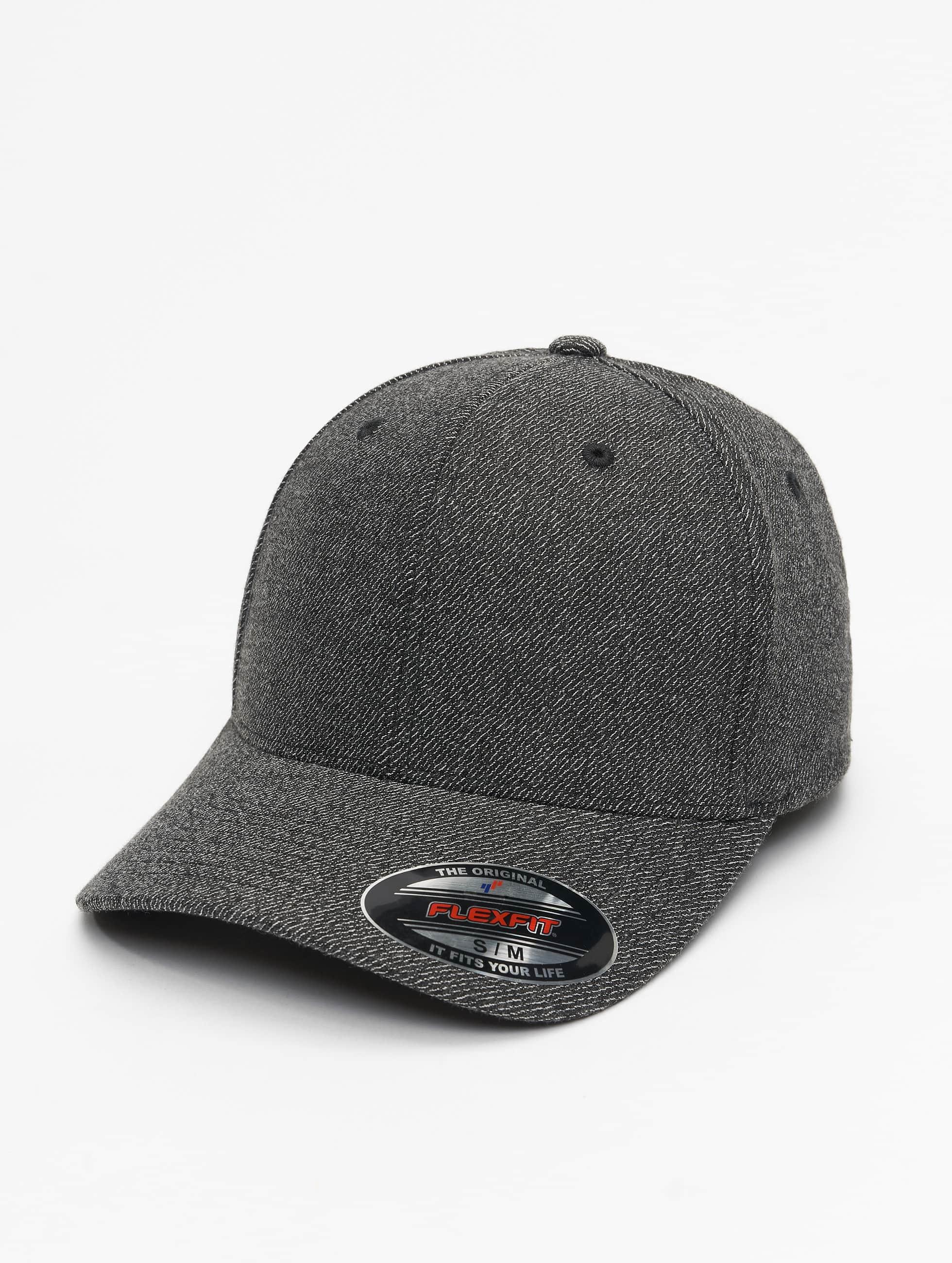 Flexfit Lastebilsjåfør- / flexfitted caps Melange svart
