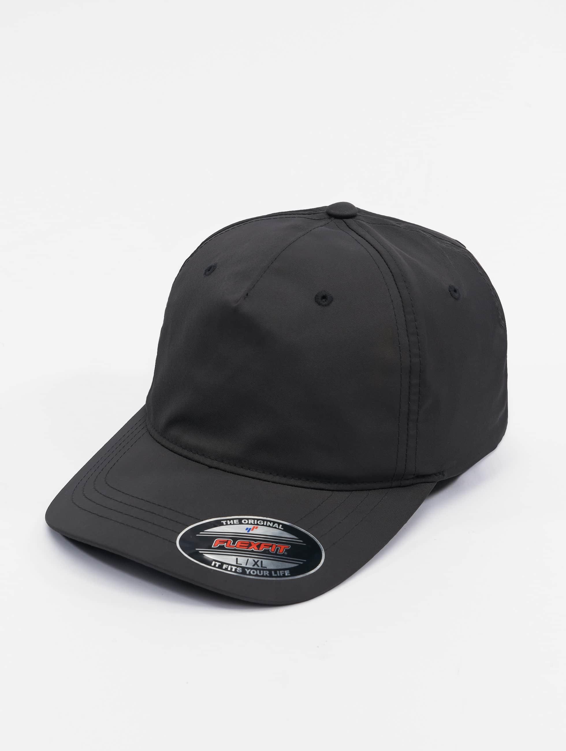 Flexfit Lastebilsjåfør- / flexfitted caps Unstructured Tech svart
