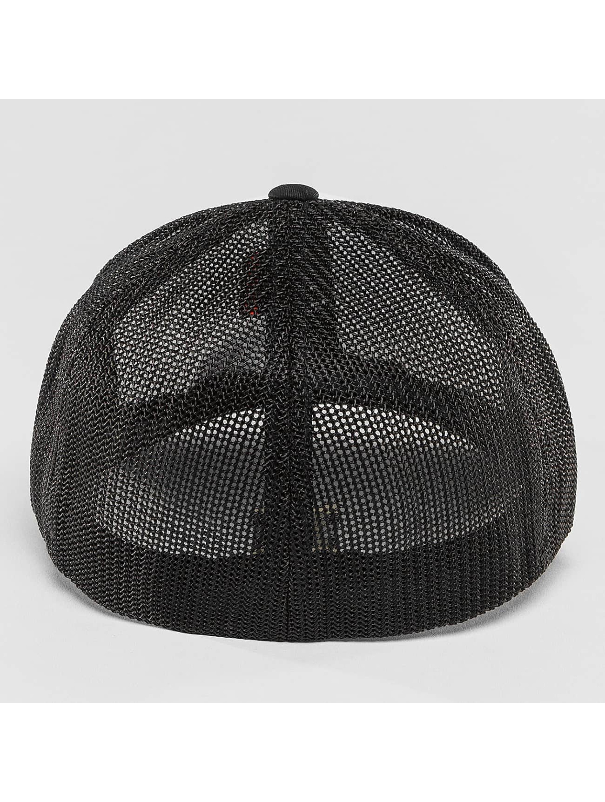 Flexfit Lastebilsjåfør- / flexfitted caps Mesh Colored svart