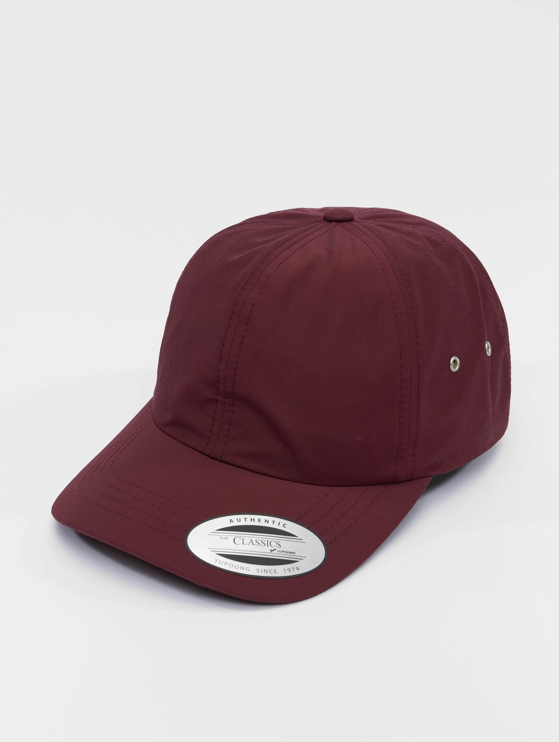 Flexfit Snapback Low Profile Water Repellent èervená