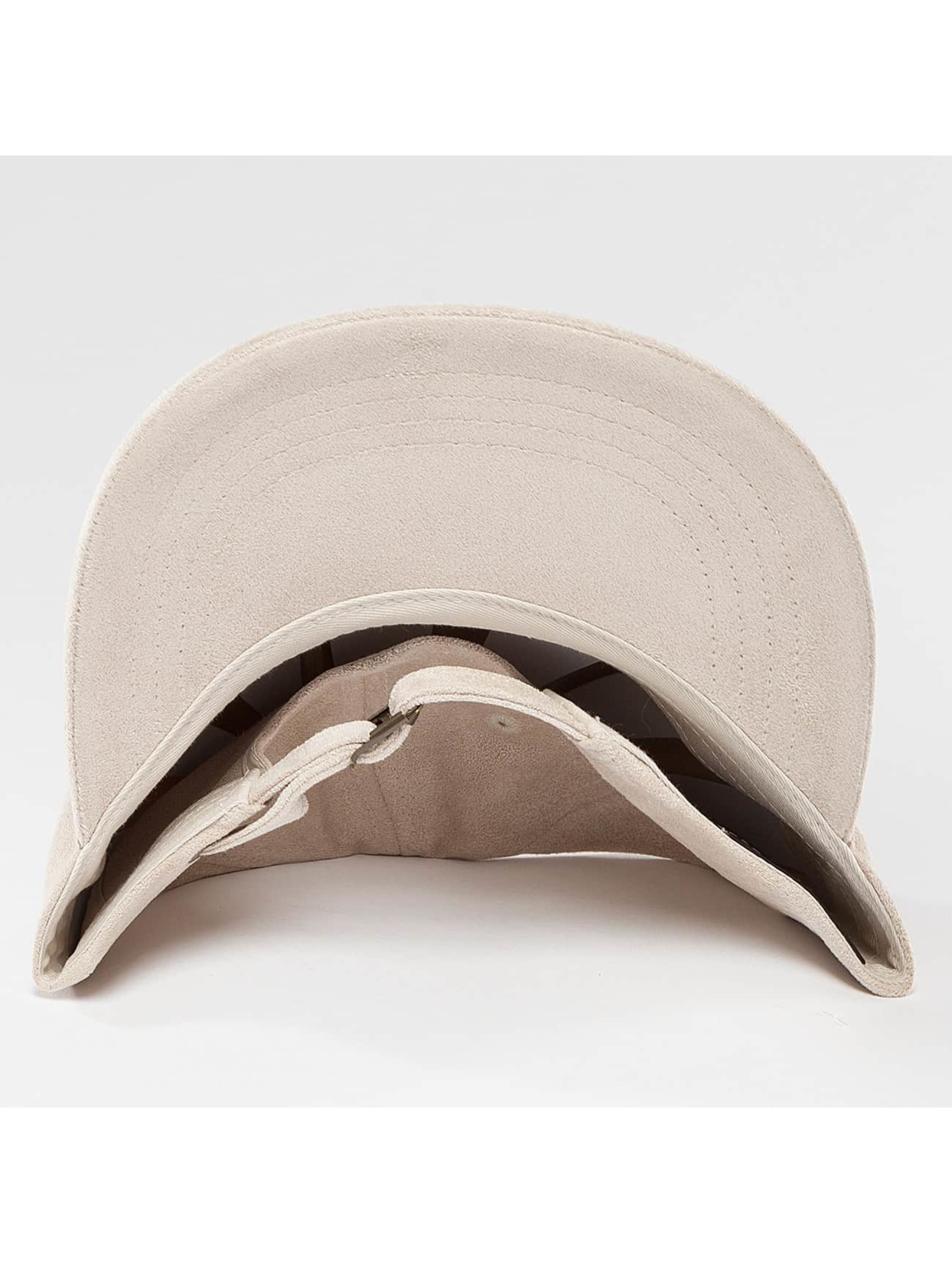 Flexfit Snapback Cap Low Profile Velours beige
