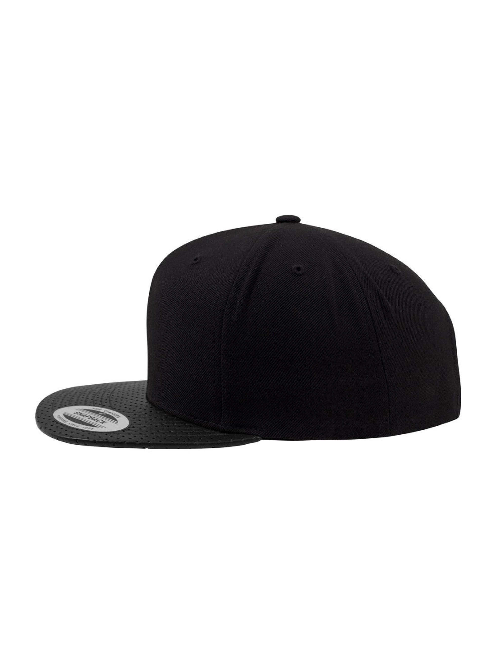 Flexfit Snapback Cap Perforated Visor black