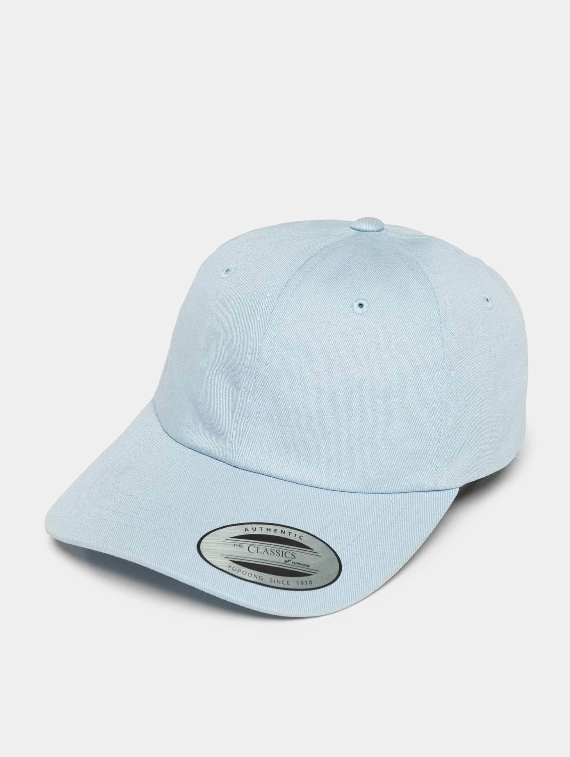 Flexfit Snapback Cap Low Profile Cotton Twil blau