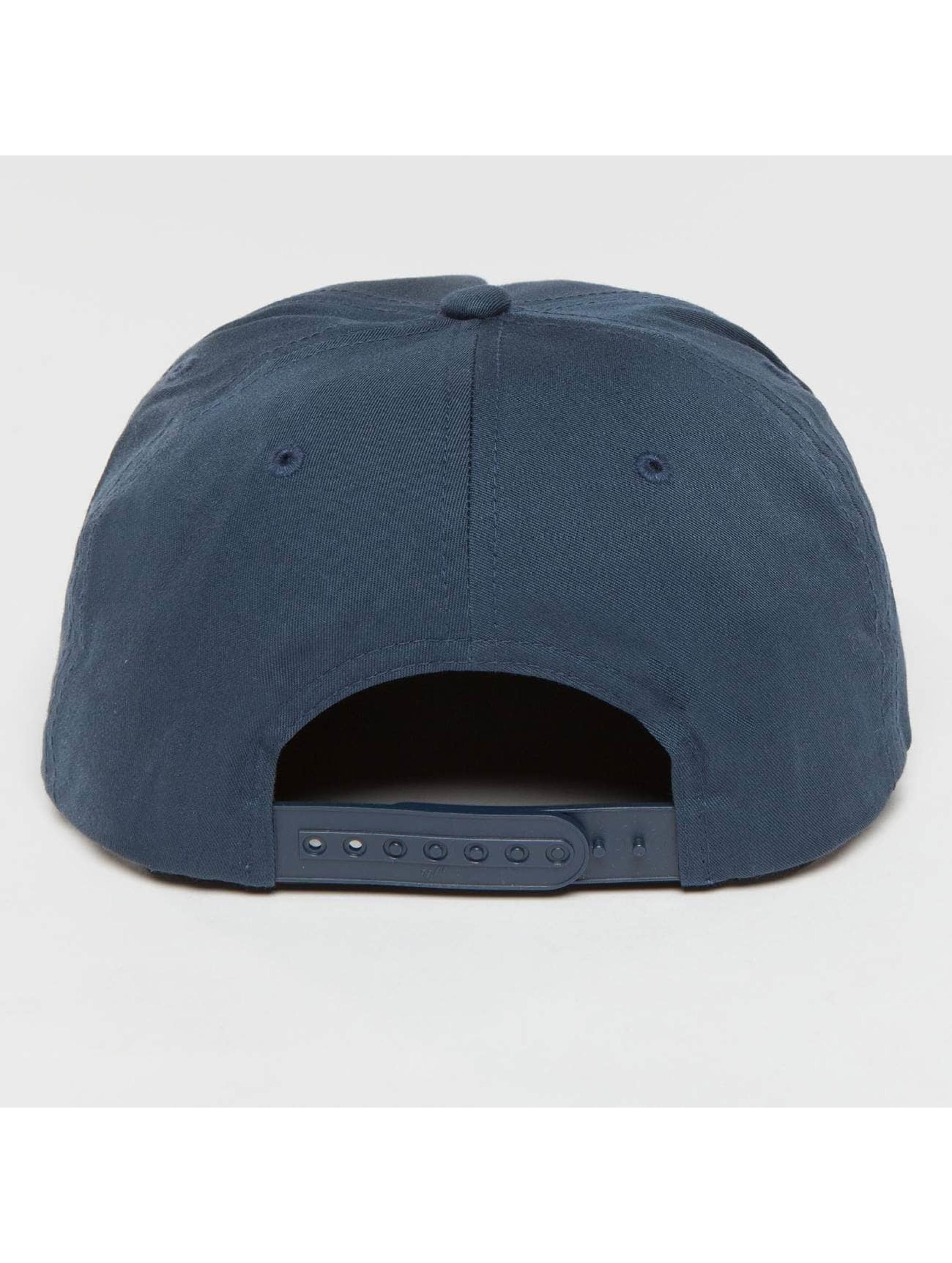 Flexfit Snapback Cap Unstructured blau