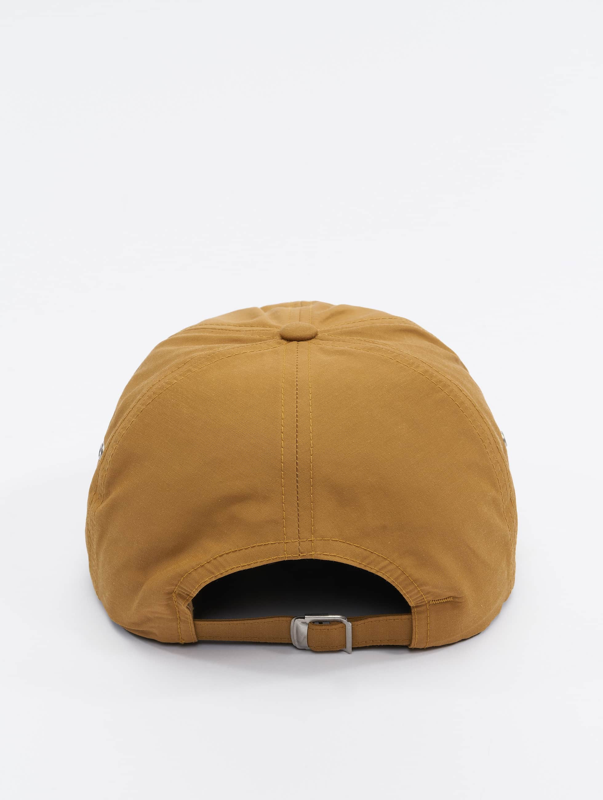 Flexfit Snapback Cap Low Profile Water Repellent brown