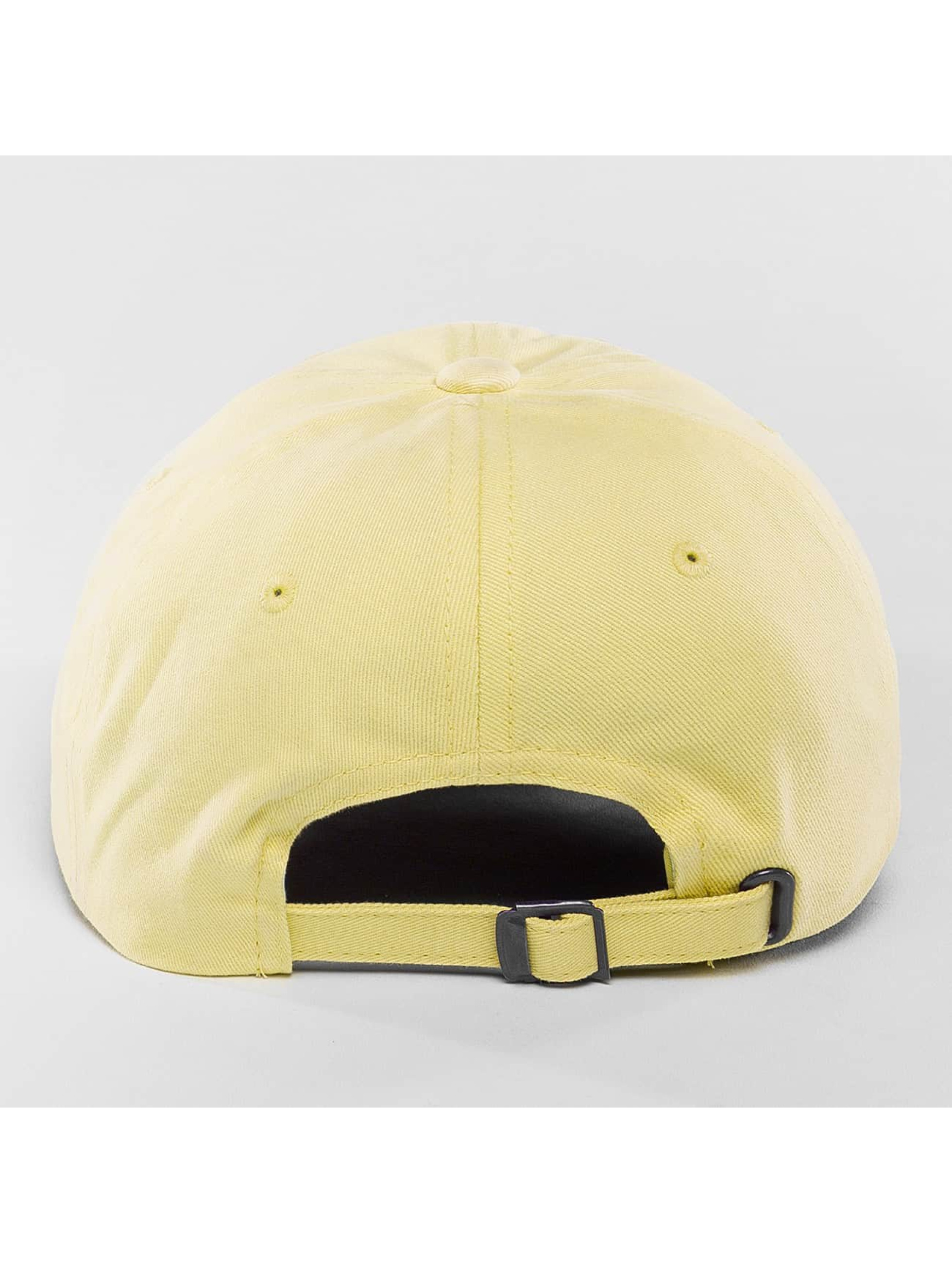Flexfit Snapback Cap Peached Cotton Twill gelb