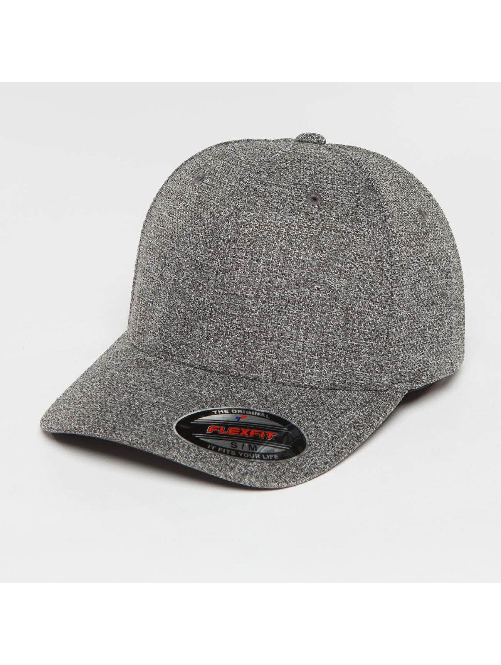 Flexfit Snapback Cap Melange grau