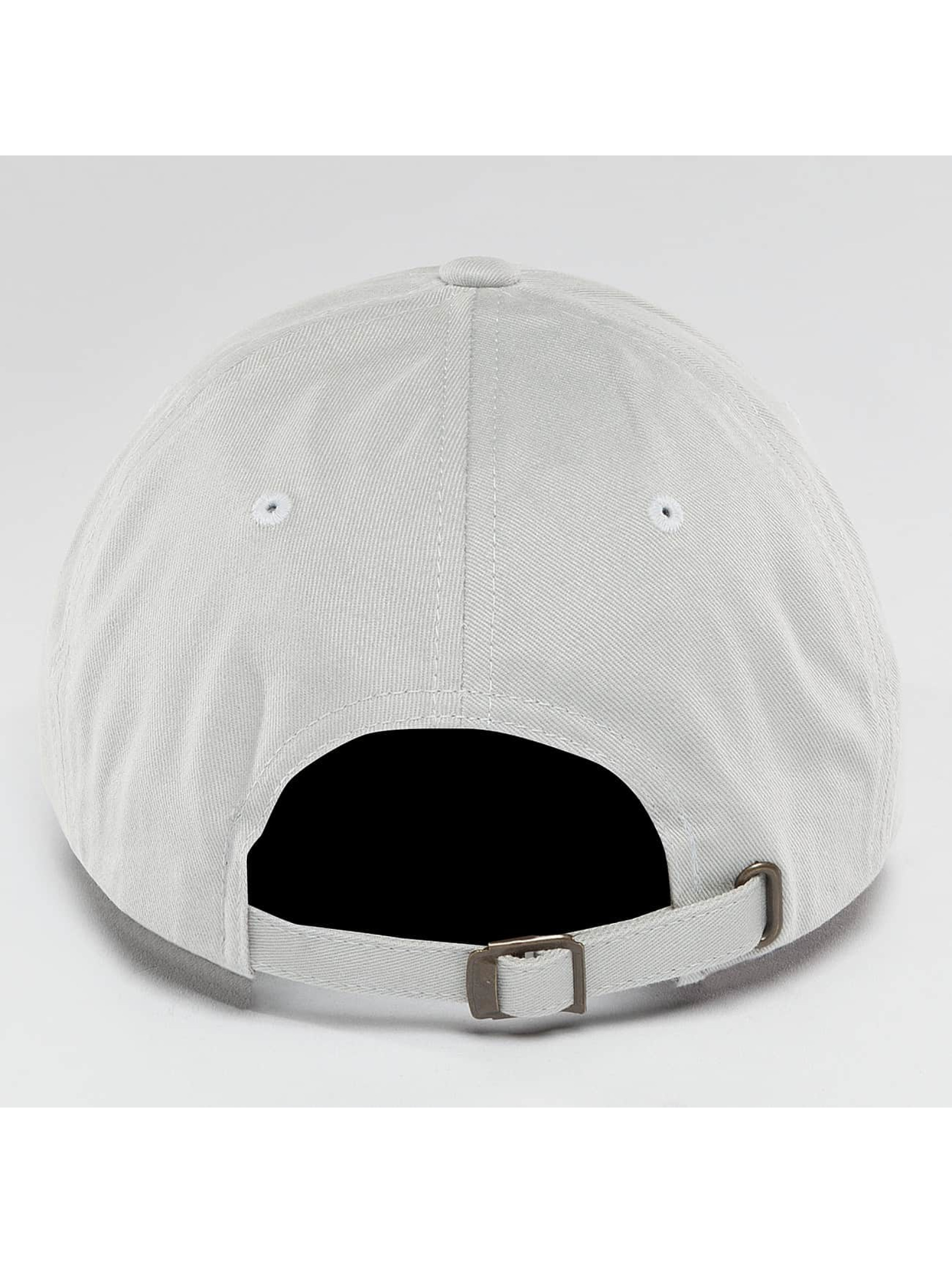 Flexfit Snapback Cap Peached Cotton Twill Dad gray