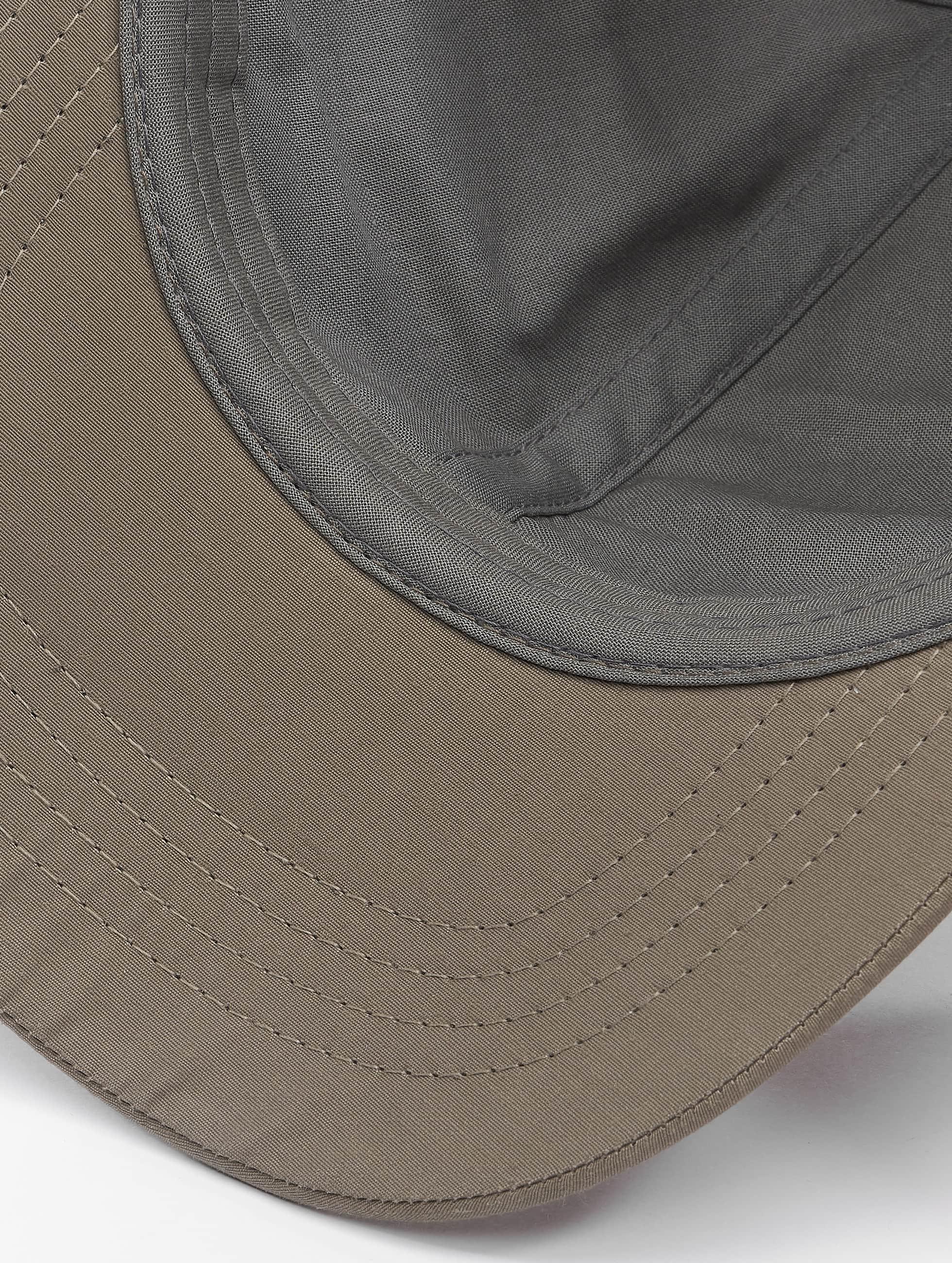 Flexfit Snapback Cap Low Profile Water Repellent grey