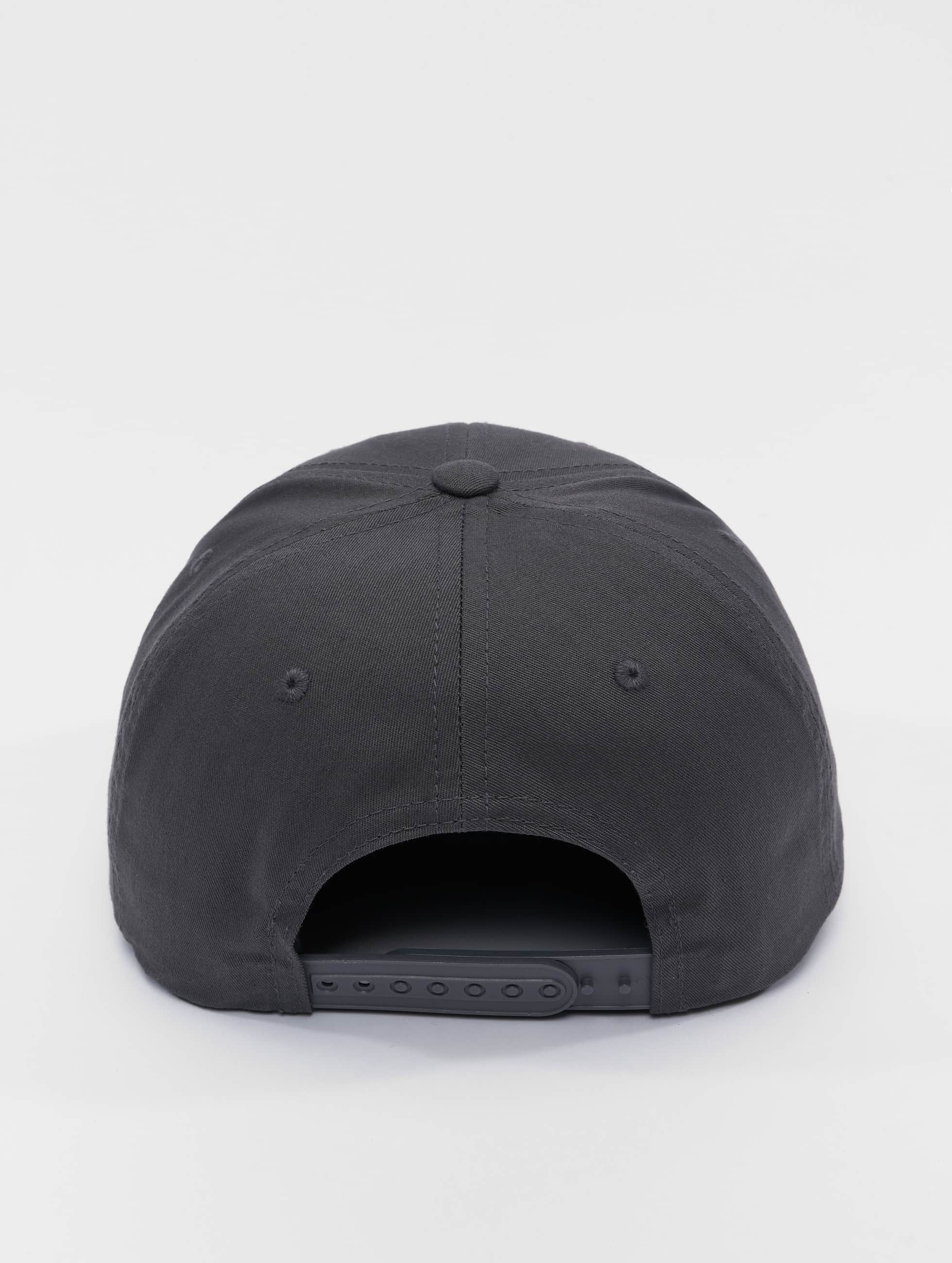 Flexfit Snapback Cap Curved Classic grey