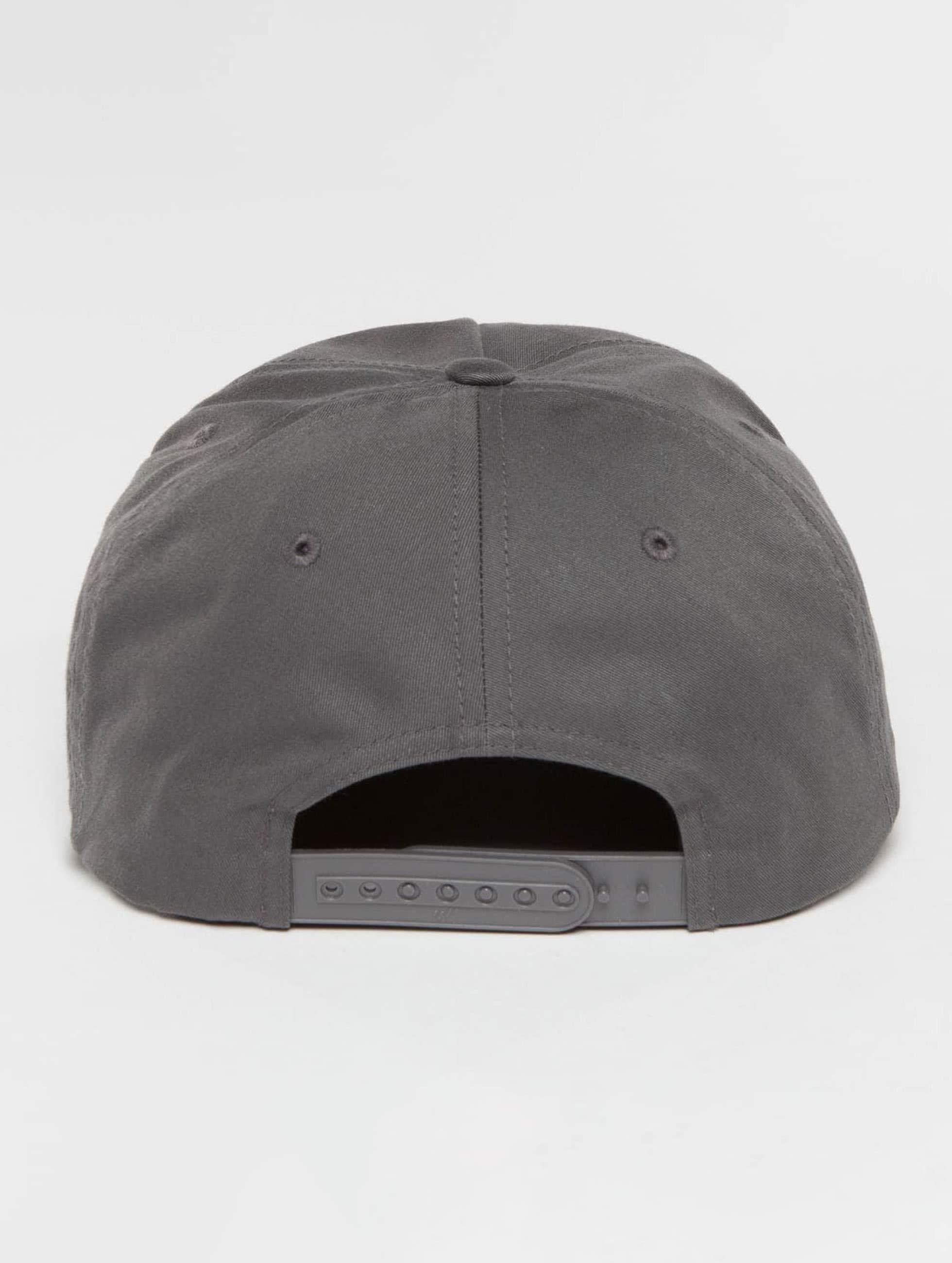 Flexfit Snapback Cap Unstructured grey