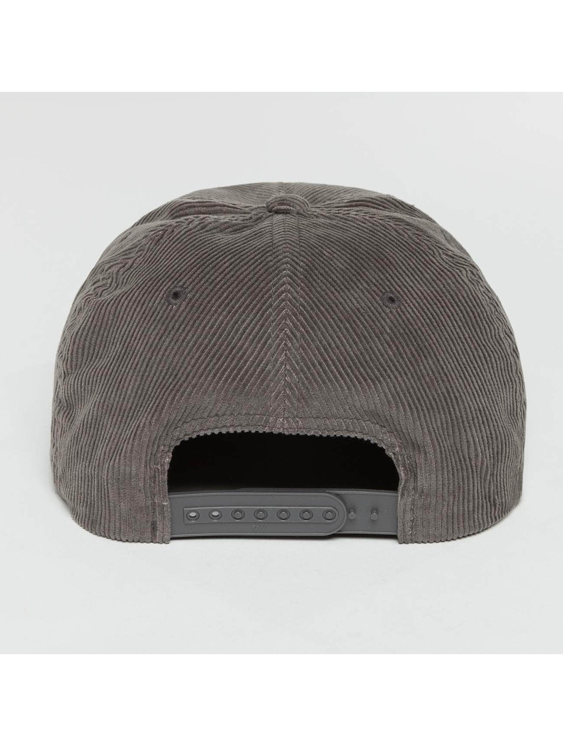 Flexfit Snapback Cap Premium Corduroy grigio
