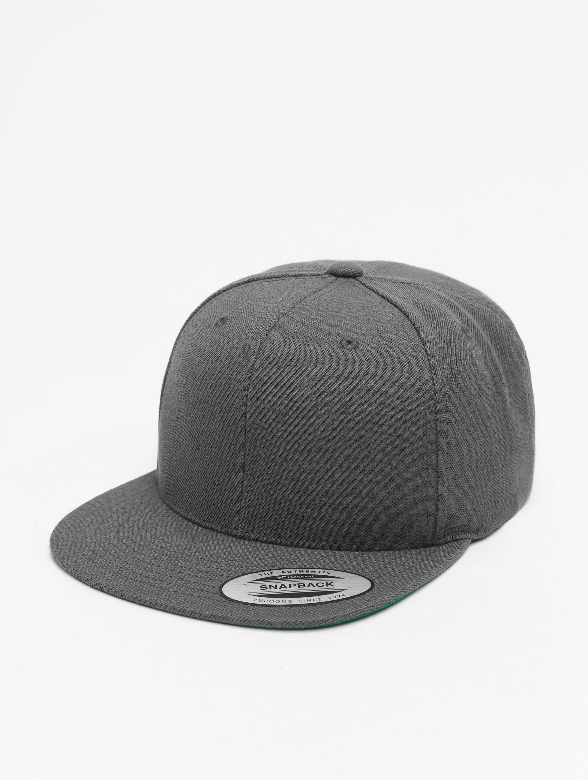 Flexfit snapback cap Classic grijs