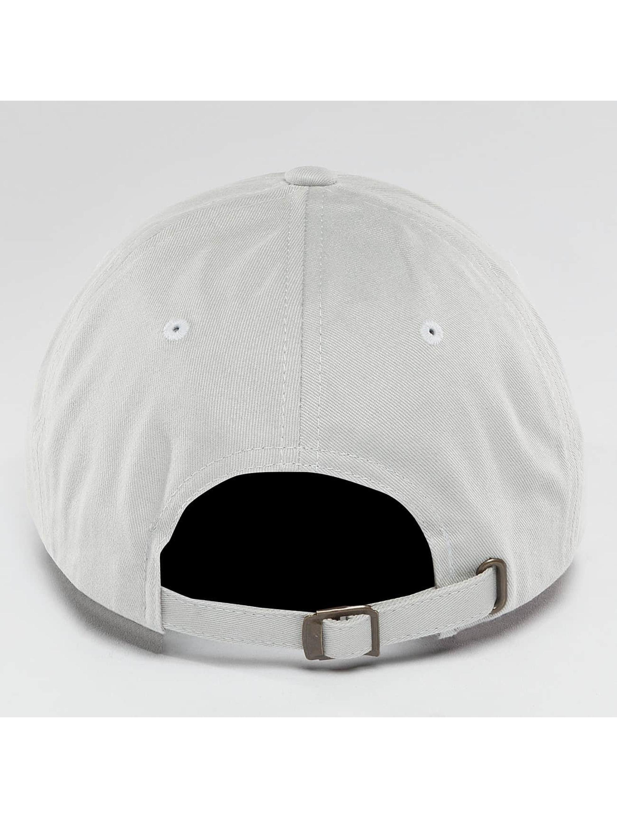 Flexfit snapback cap Peached Cotton Twill Dad grijs