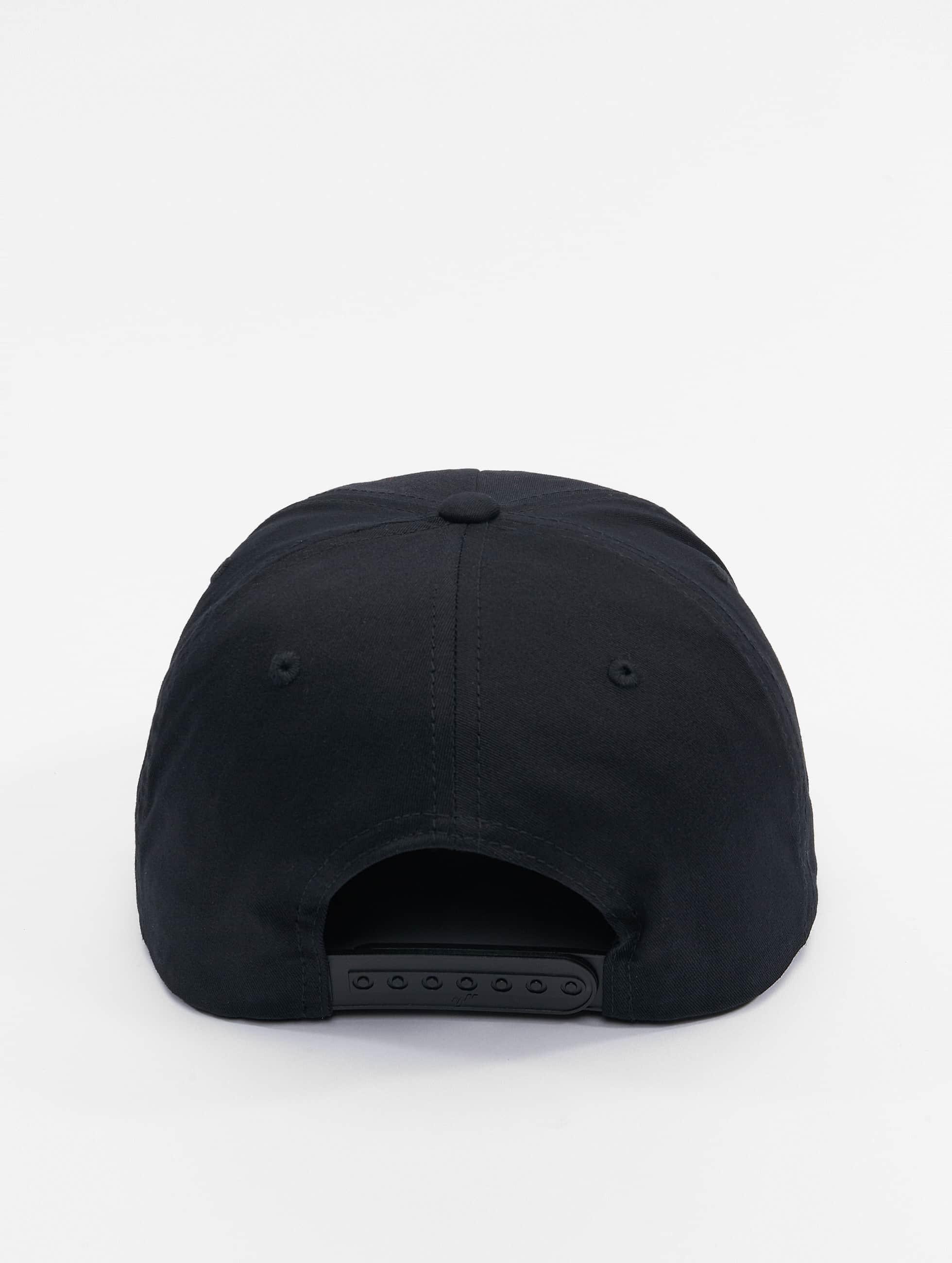 Flexfit Snapback Cap Unstructured nero