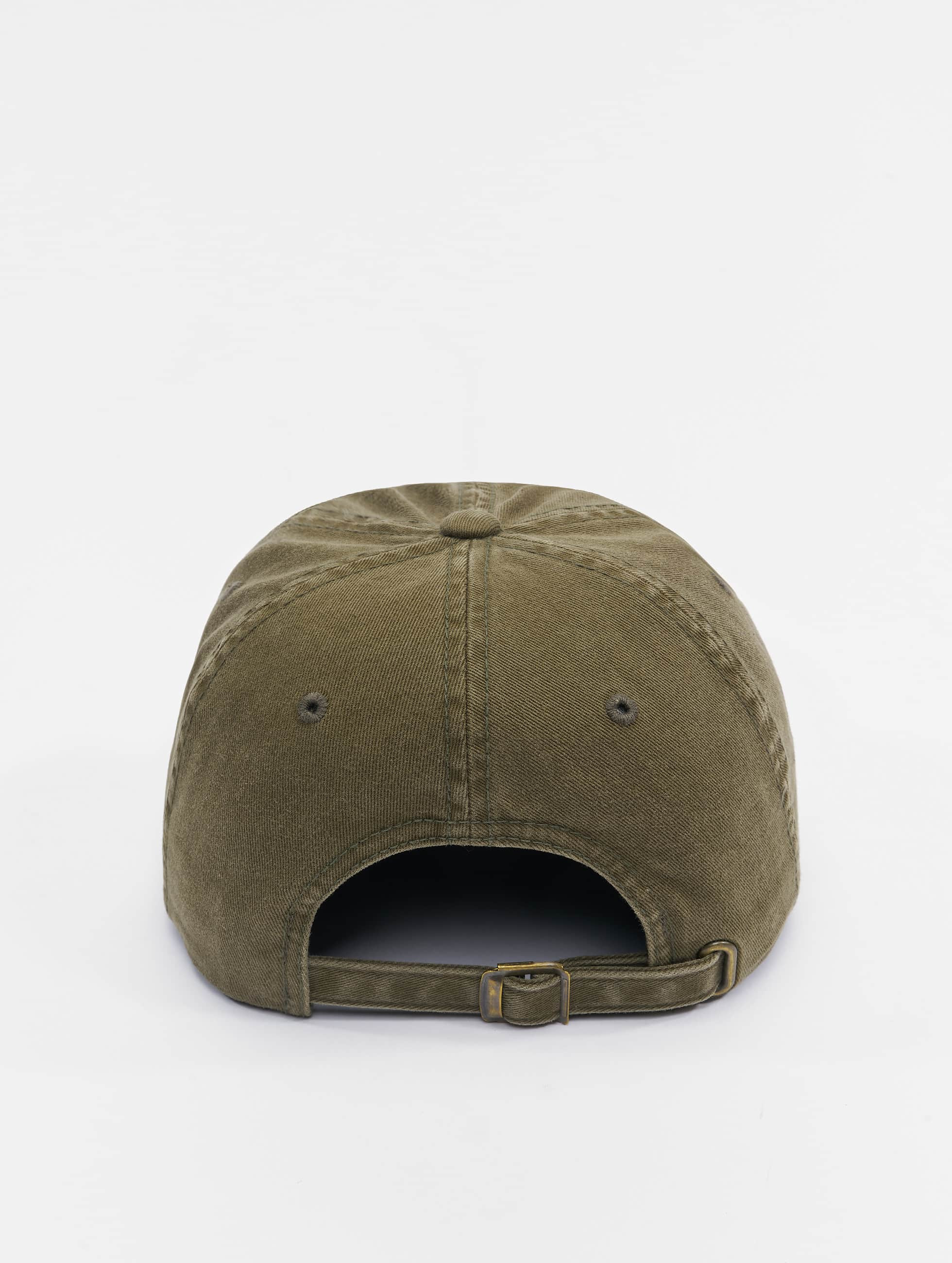 Flexfit Snapback Cap Low Profile Destroyed olive