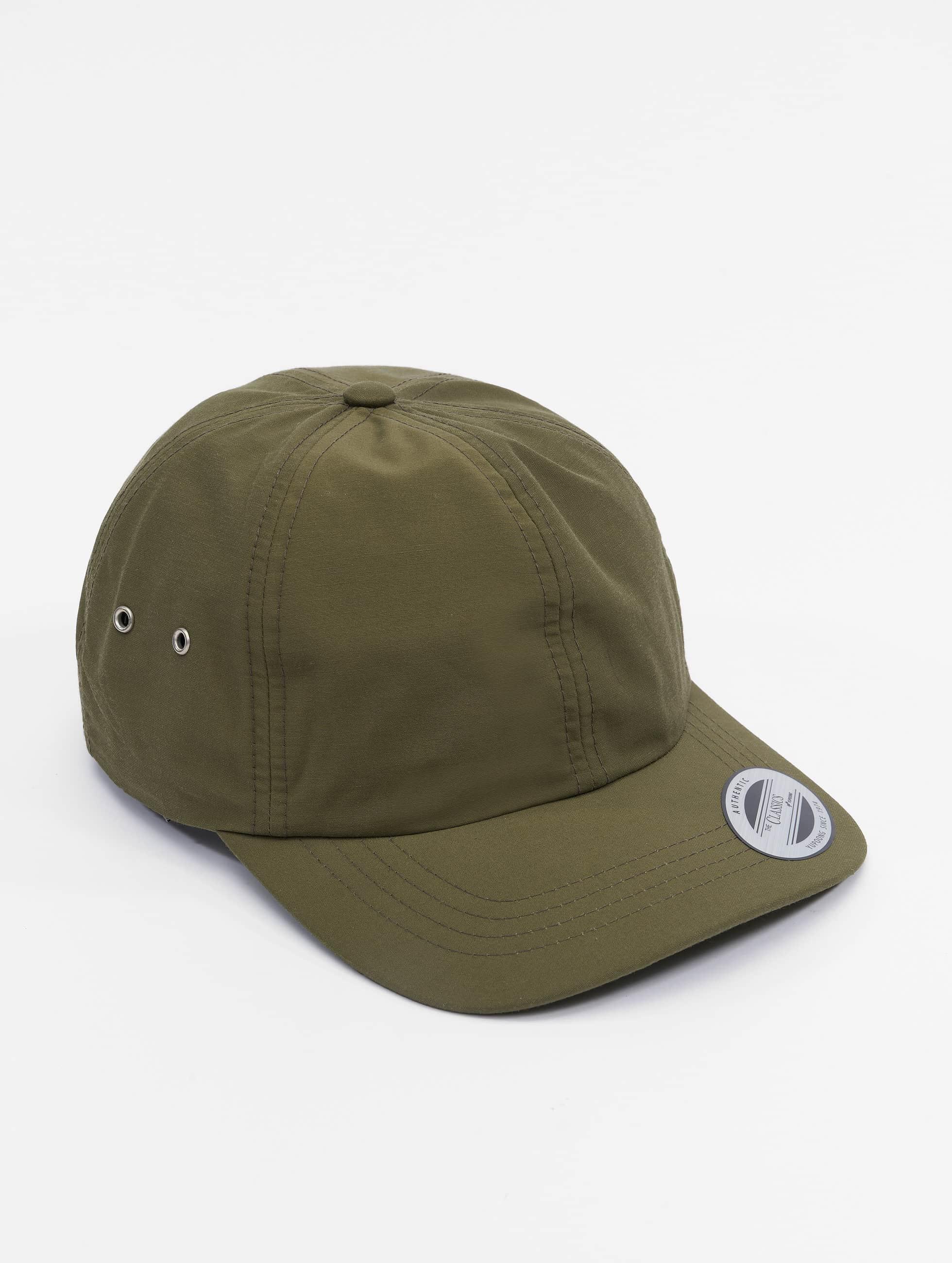 Flexfit Snapback Cap Low Profile Water Repellent olive
