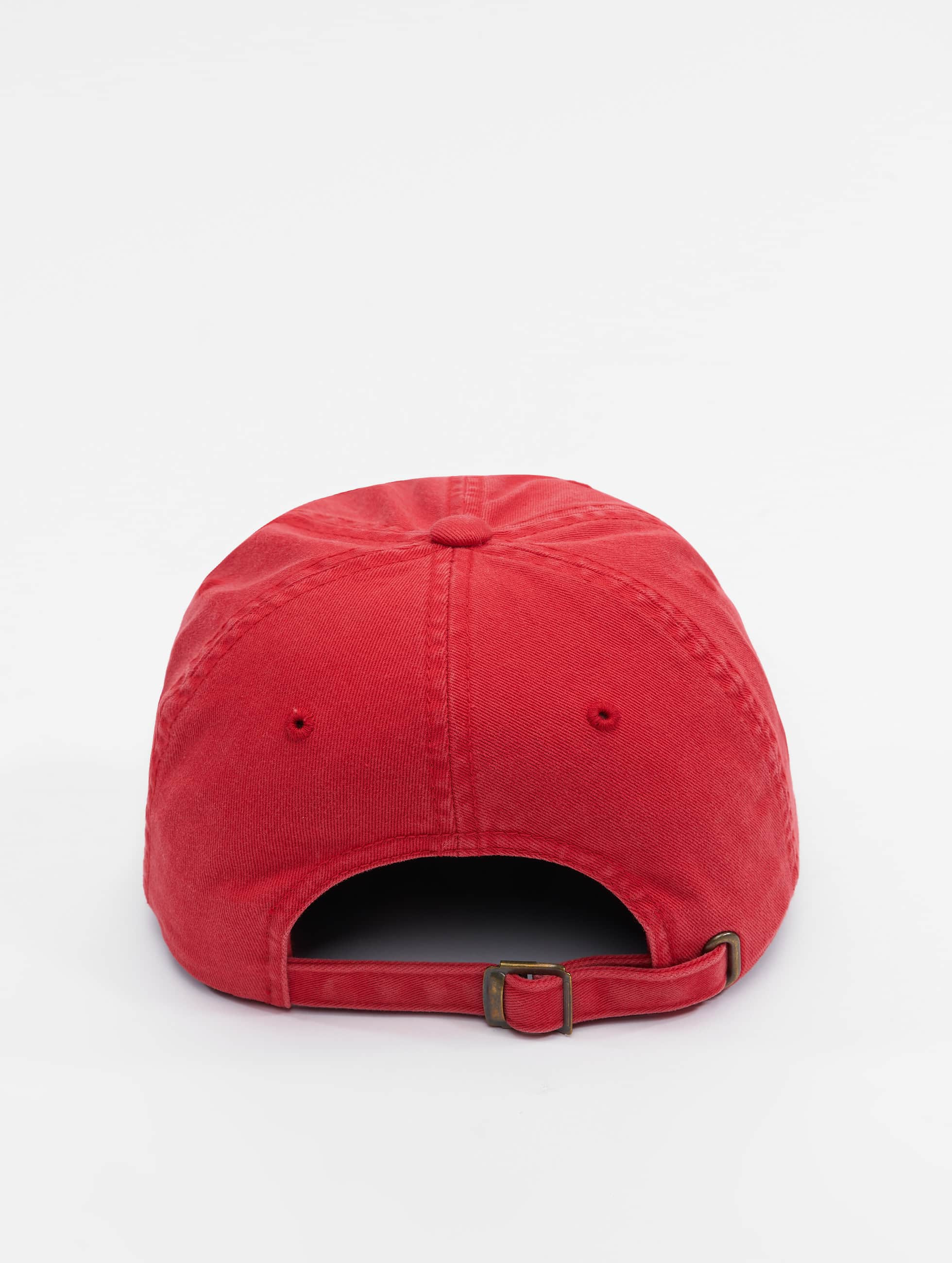 Flexfit Snapback Cap Low Profile Destroyed red
