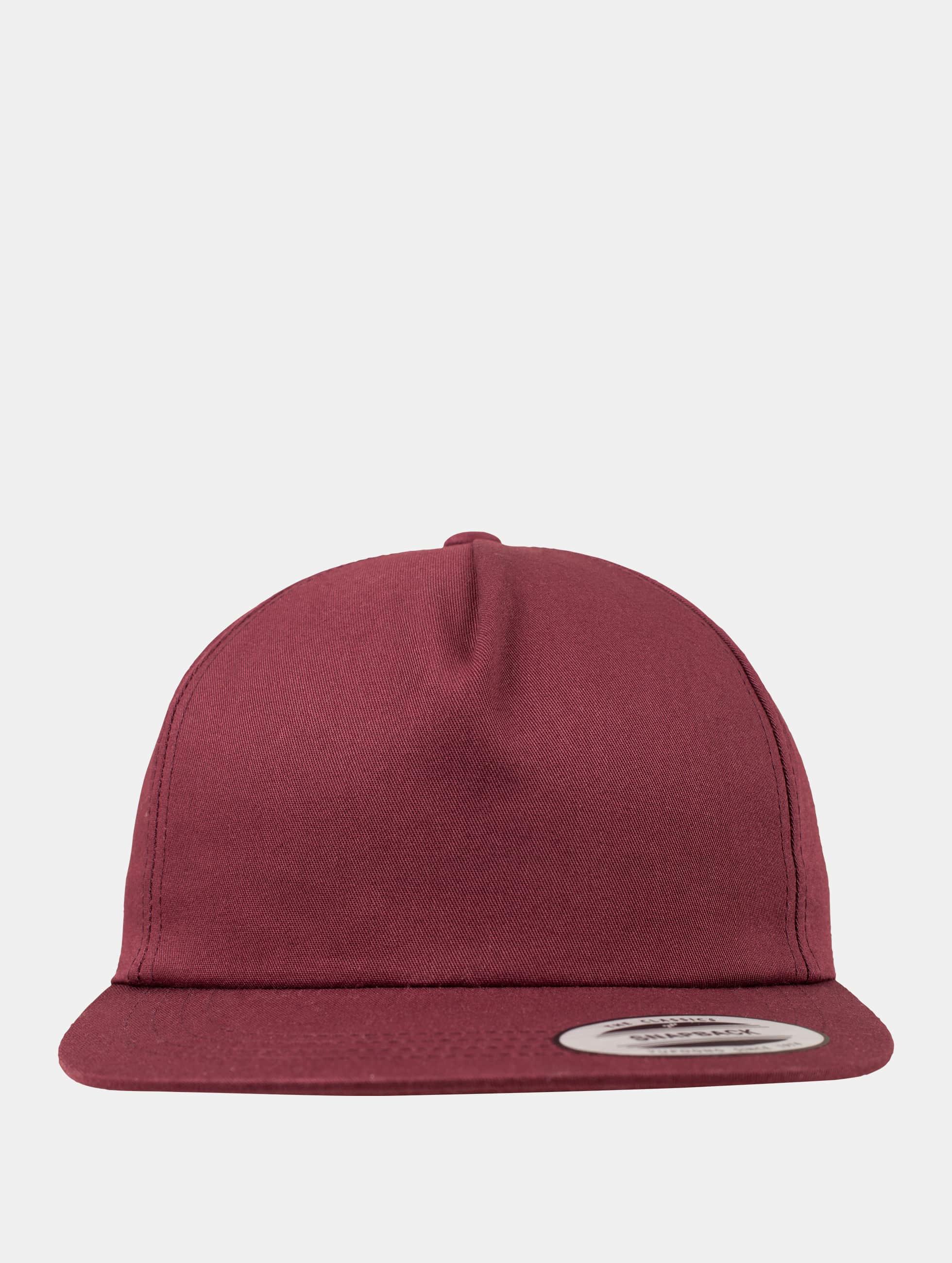 Flexfit snapback cap Unstructured rood