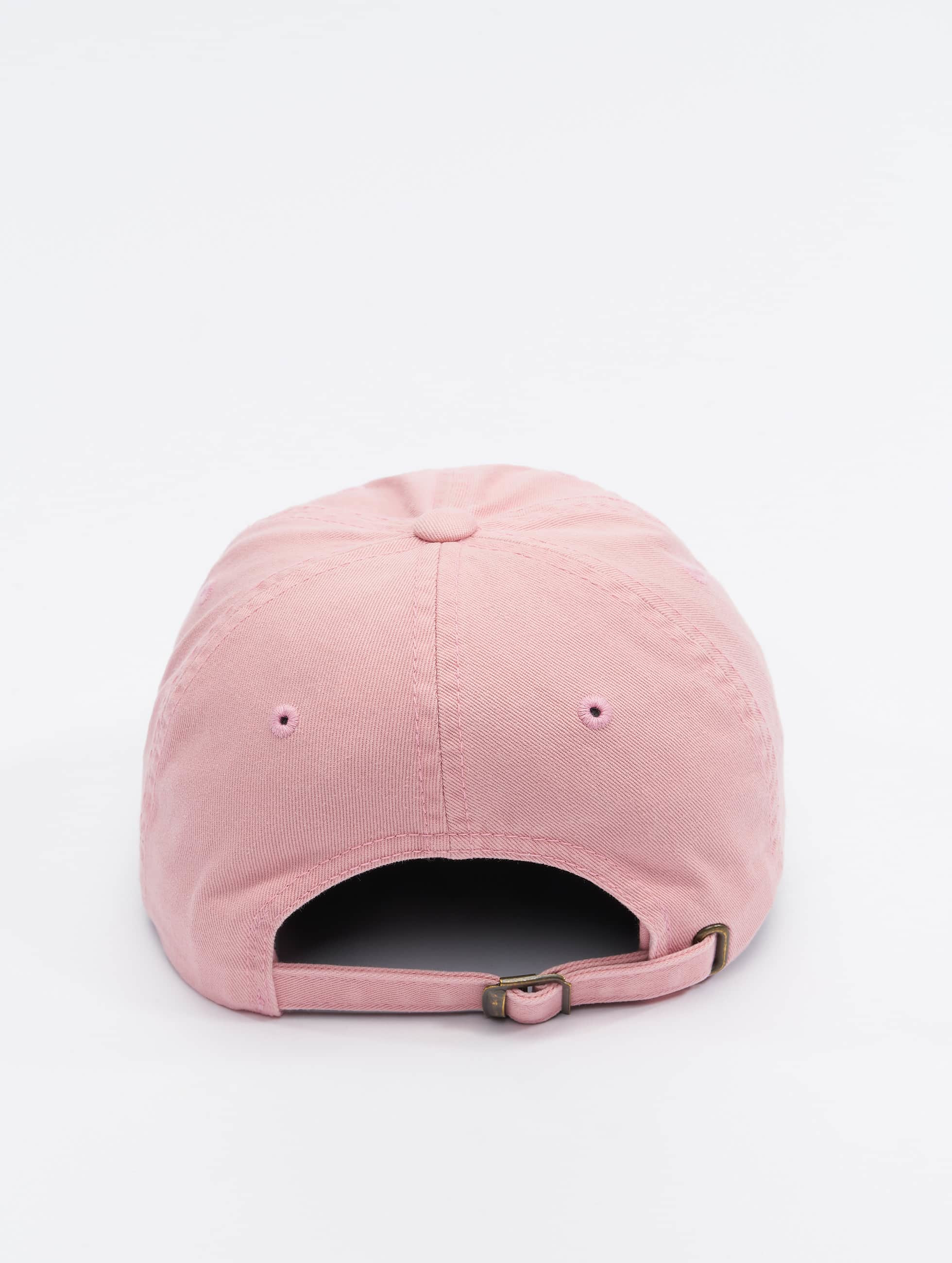 Flexfit Snapback Cap Low Profile Destroyed rosa
