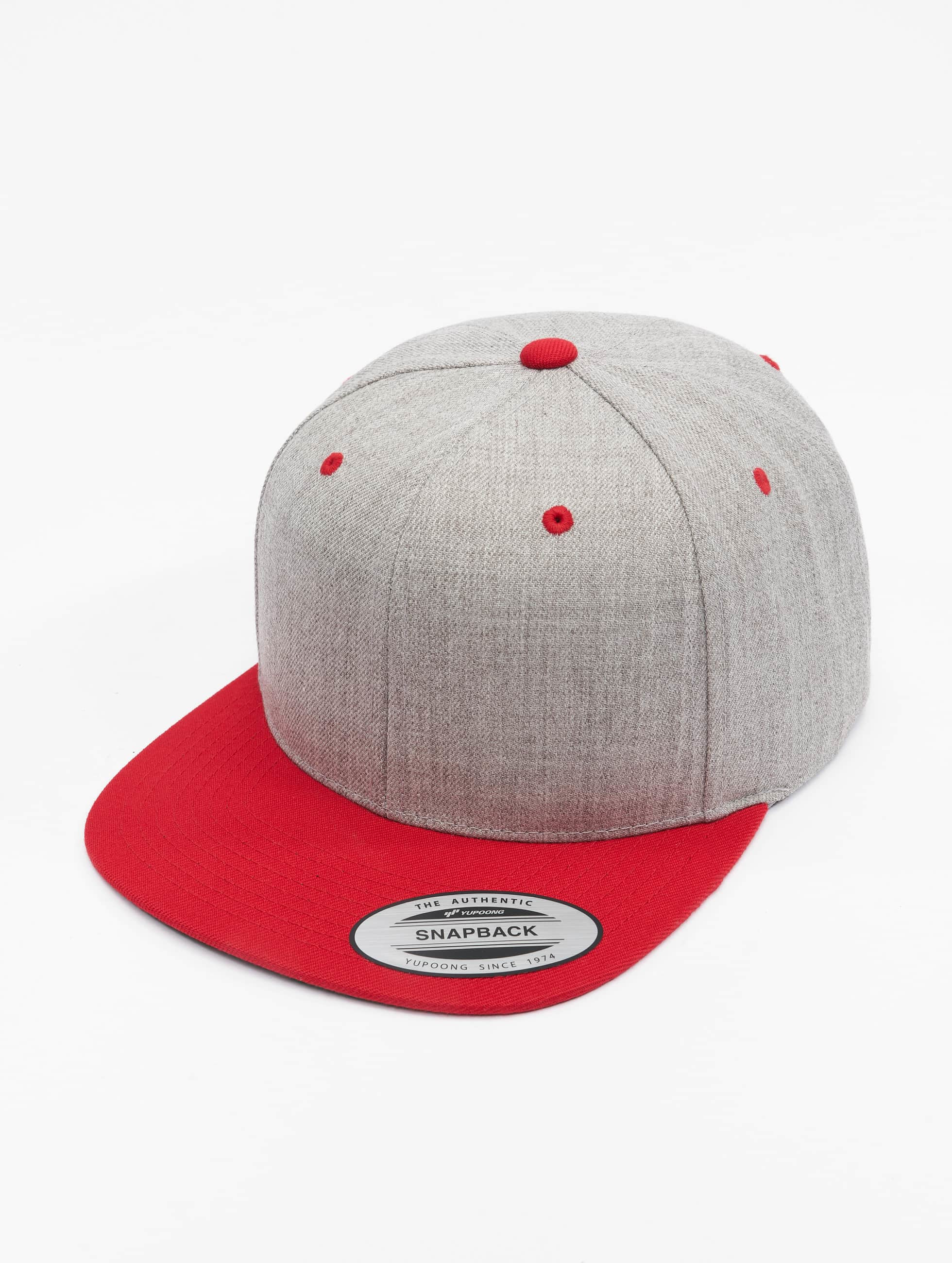 Flexfit Snapback Cap Classic 2-Tone rosso