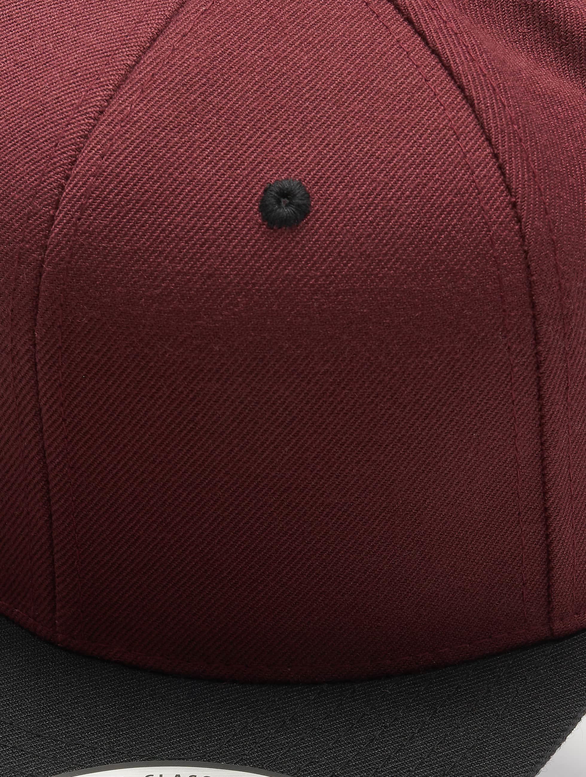 Flexfit Snapback Cap Classic 2-Tone rot