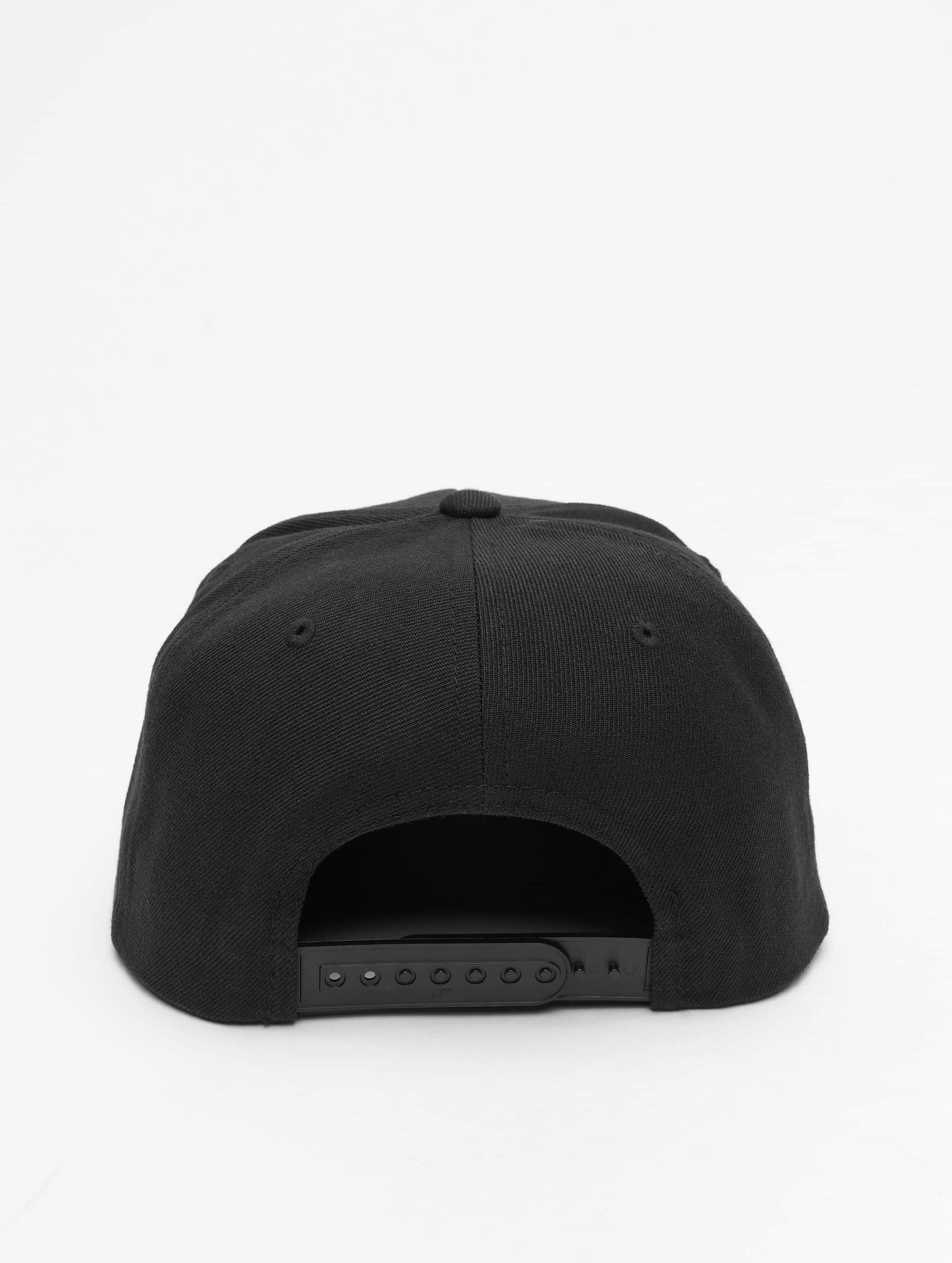 Flexfit Snapback Cap Classic schwarz