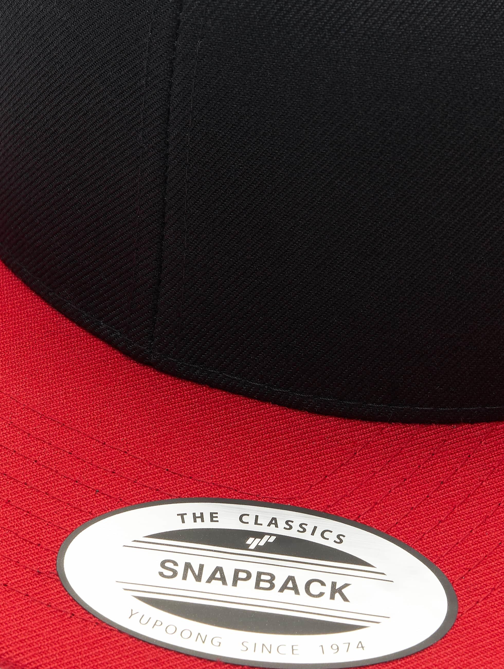 Flexfit Snapback Cap Classic Two Tone schwarz