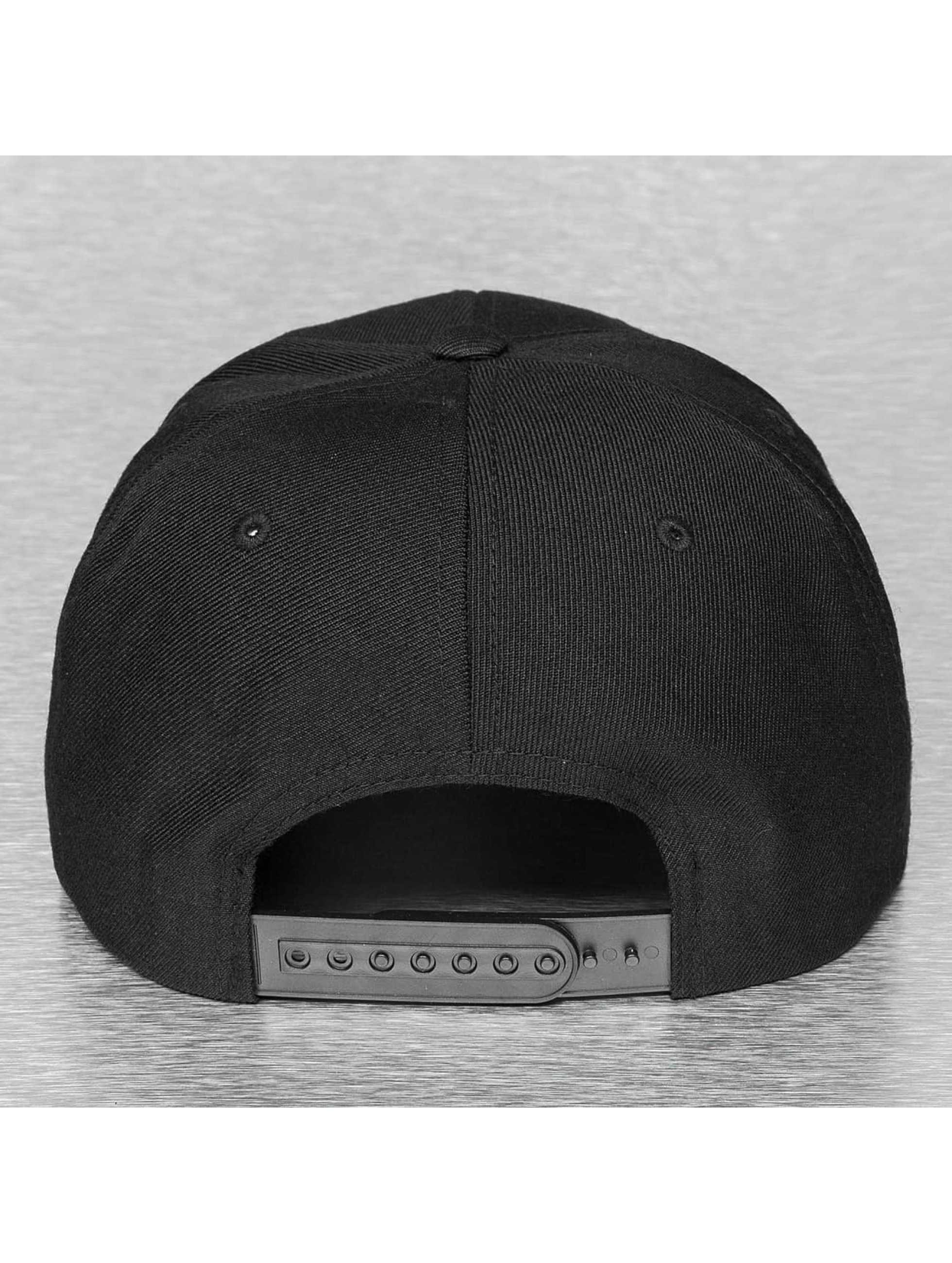 Flexfit Snapback Cap Mesh Visor schwarz