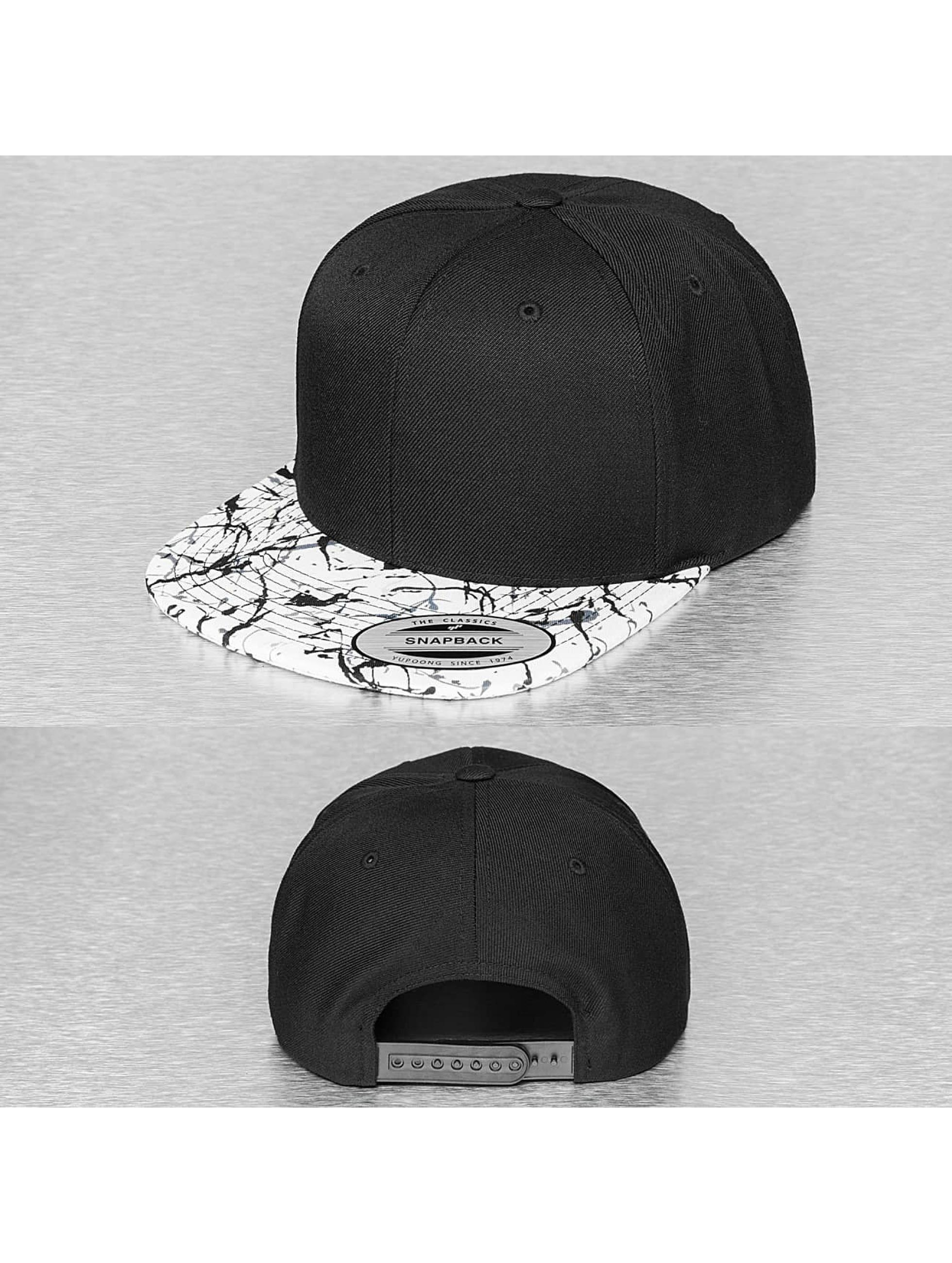 Flexfit Snapback Cap Painted Visor schwarz