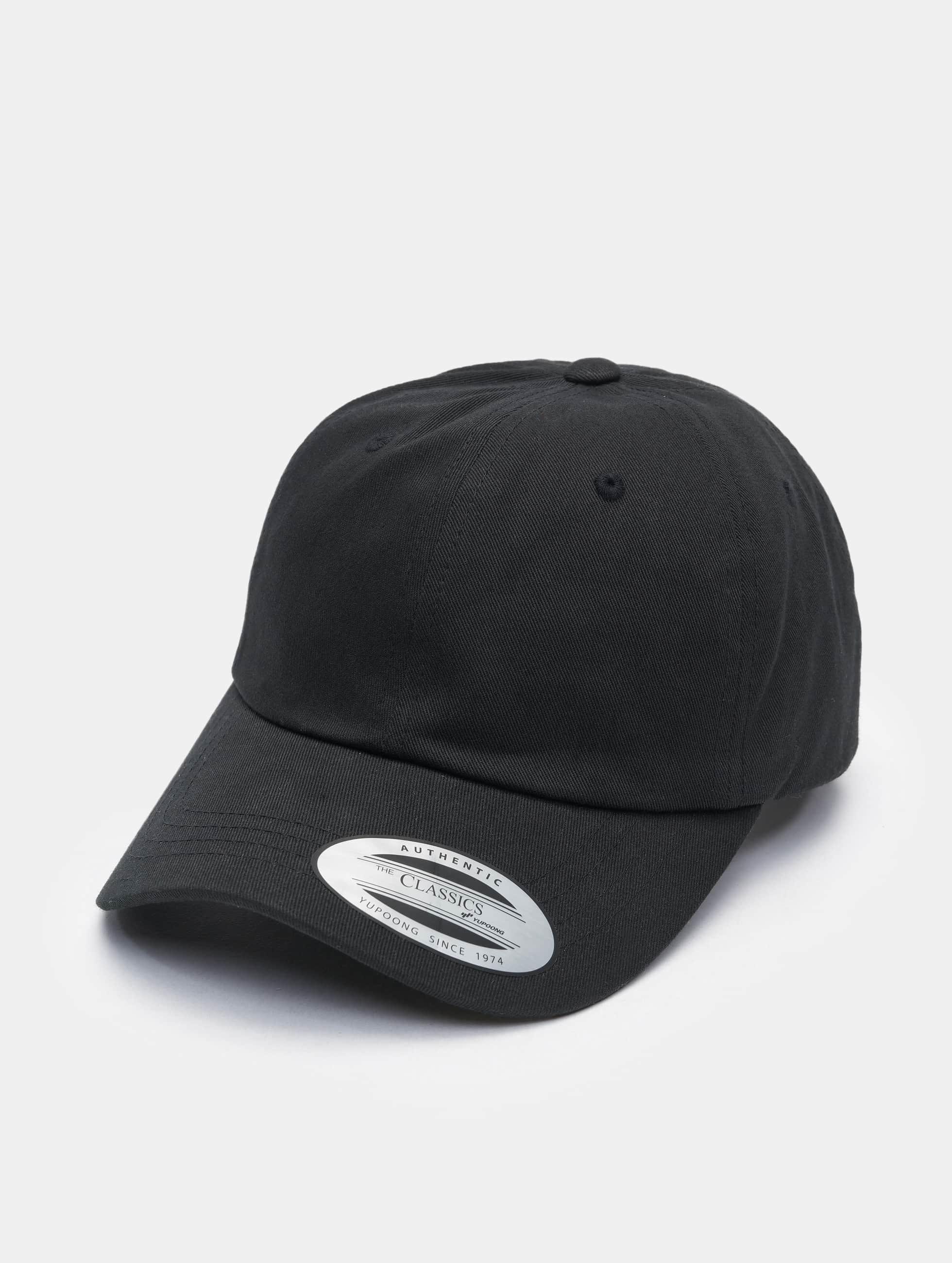 Flexfit snapback cap Low Profile Cotton Twill zwart